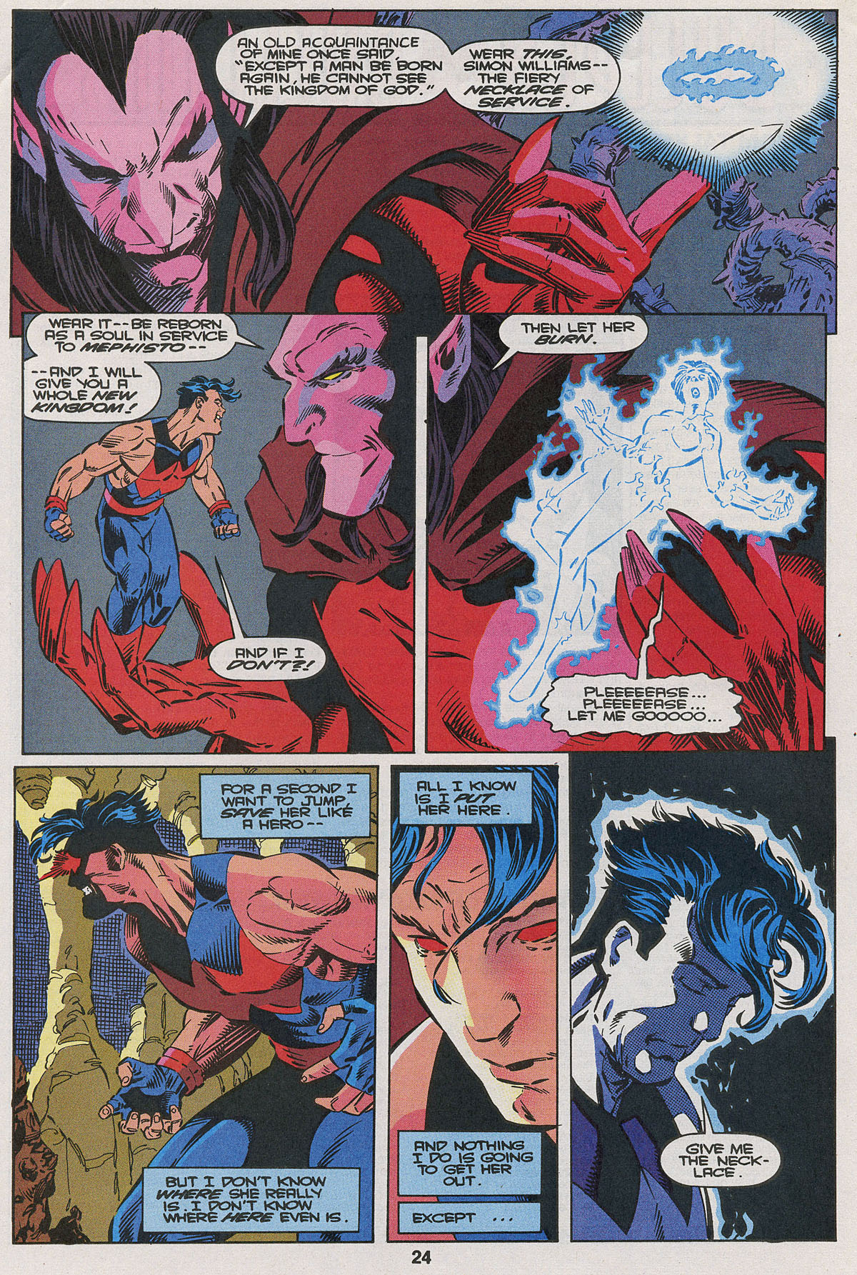 Read online Wonder Man (1991) comic -  Issue #22 - 18