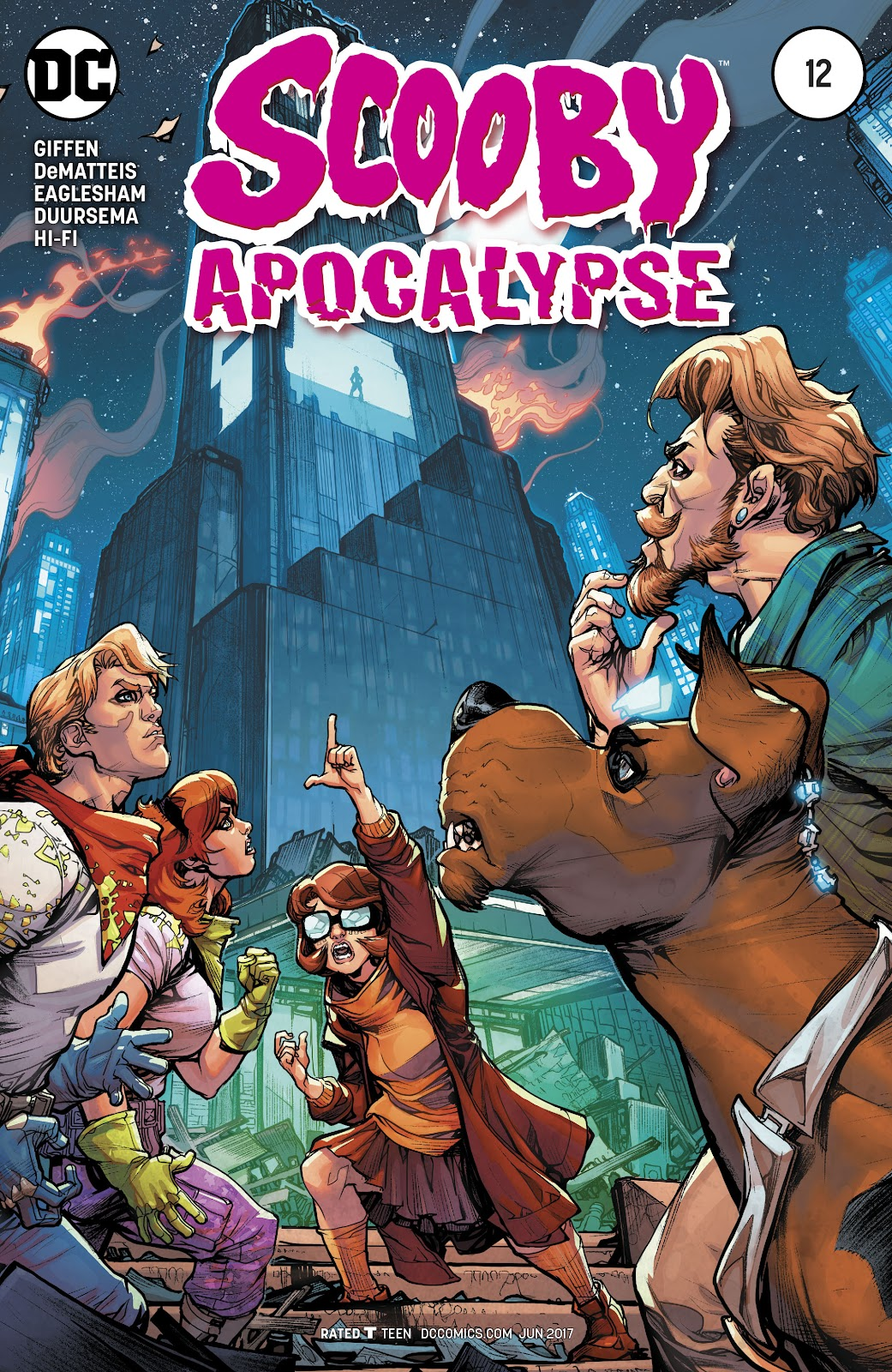 Scooby Apocalypse issue 12 - Page 1