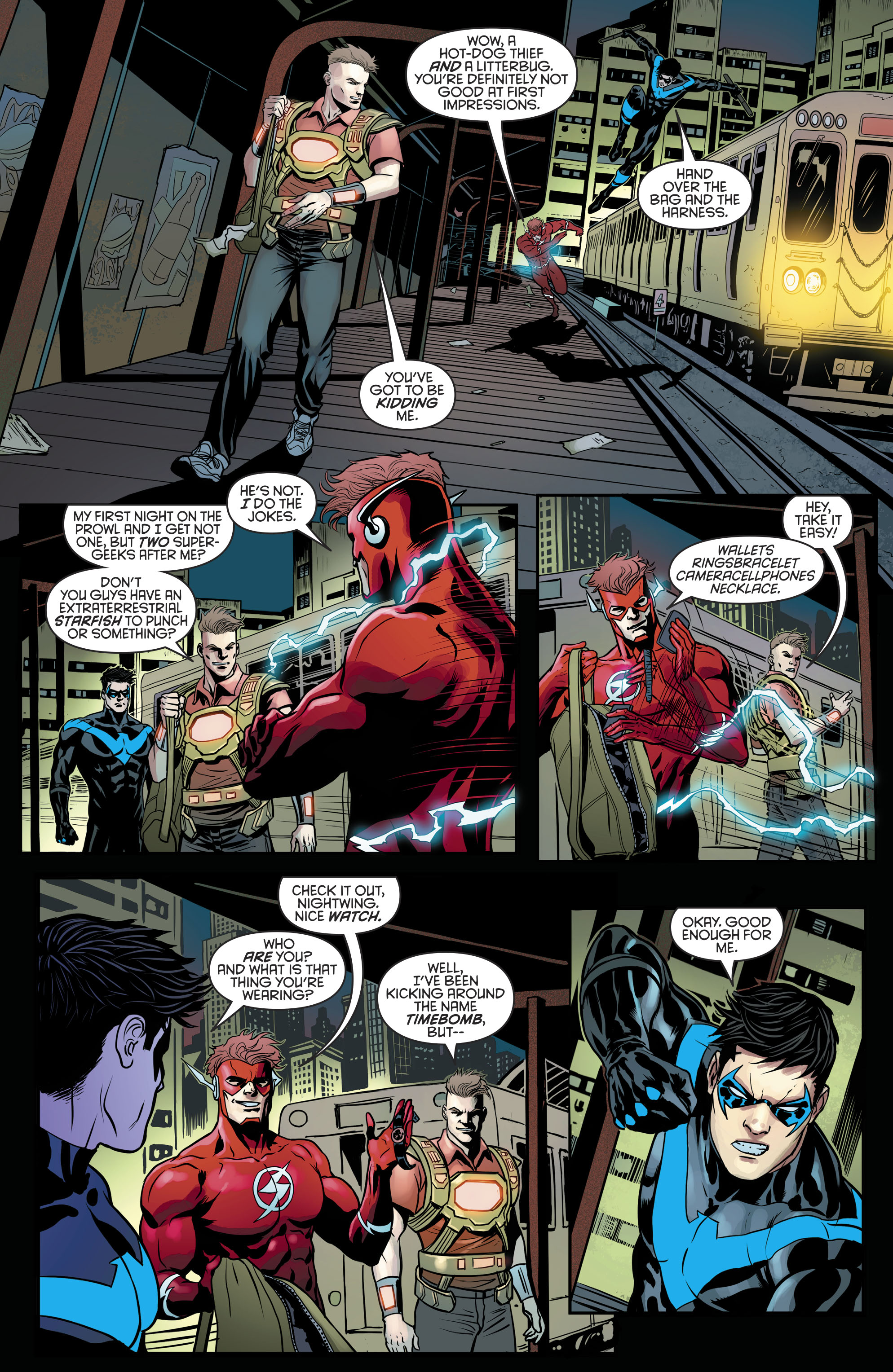 Read online Nightwing (2016) comic -  Issue #21 - 14