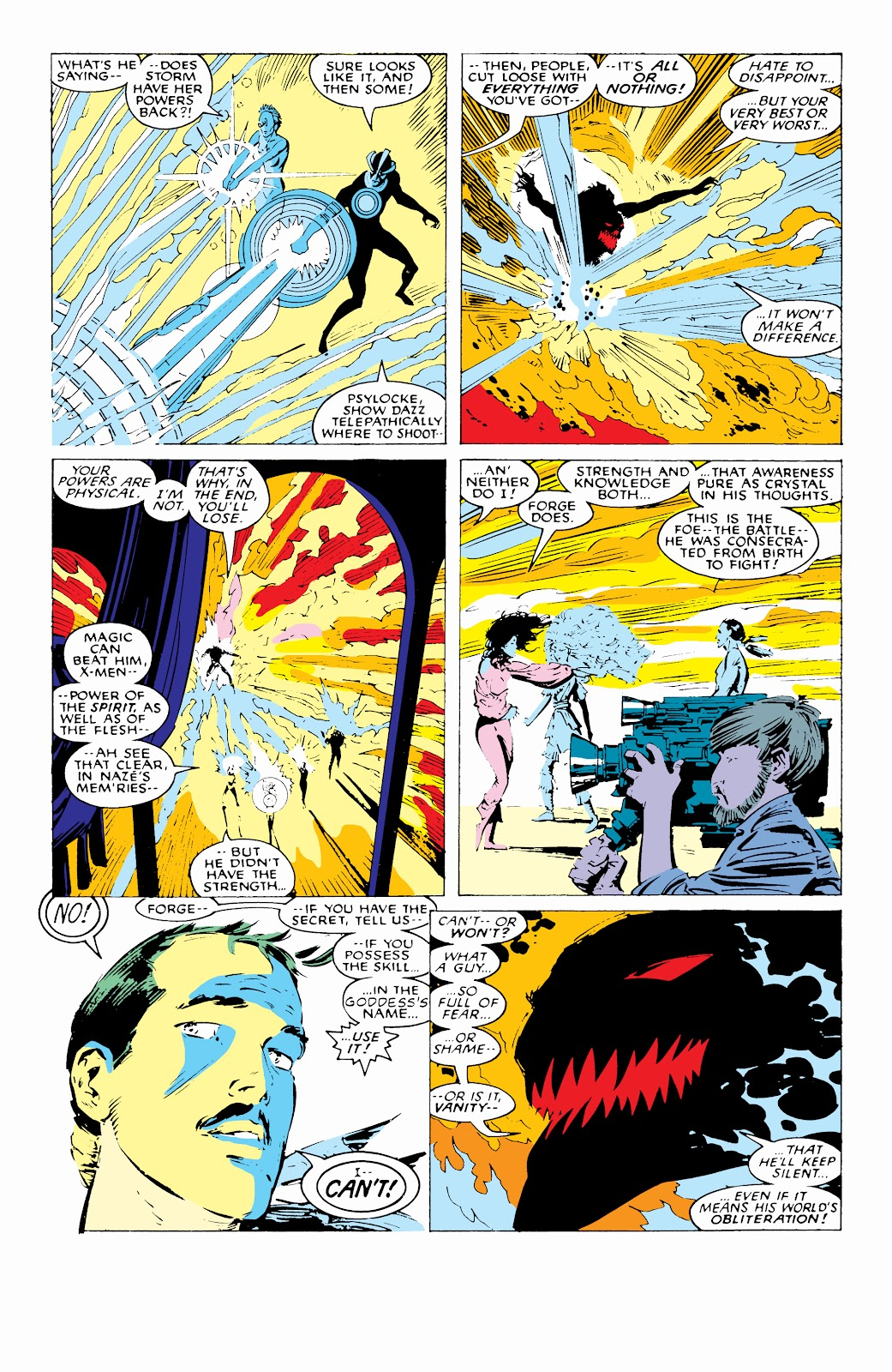 Read online X-Men Milestones: Fall of the Mutants comic -  Issue # TPB (Part 1) - 84