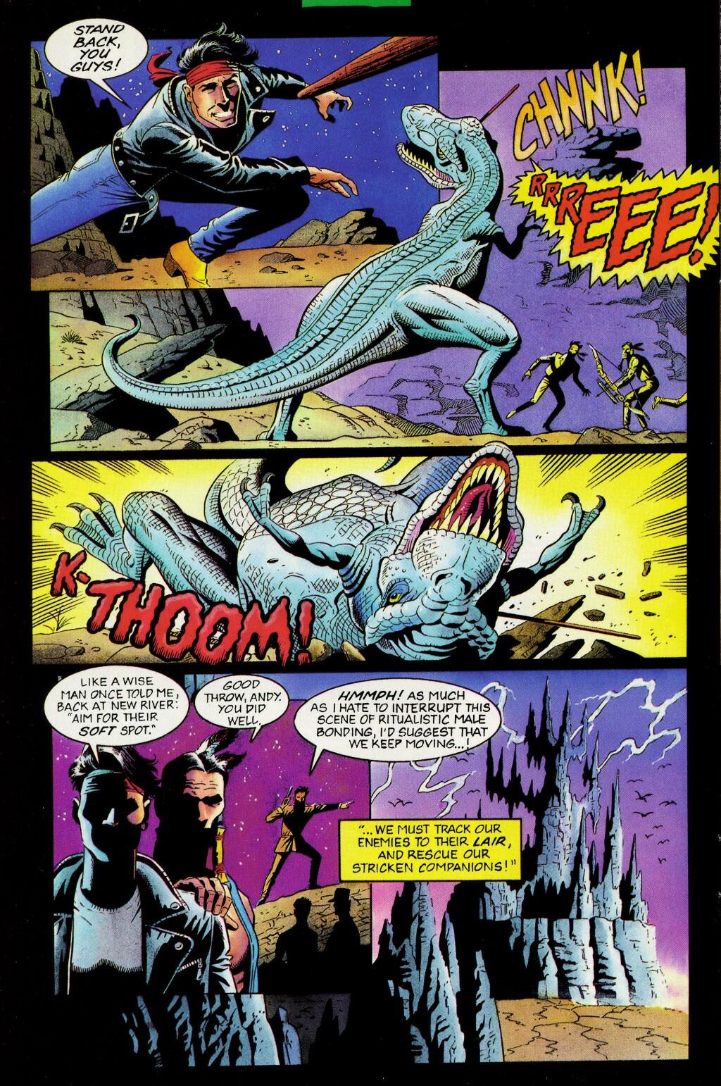 Read online Turok, Dinosaur Hunter (1993) comic -  Issue #33 - 6
