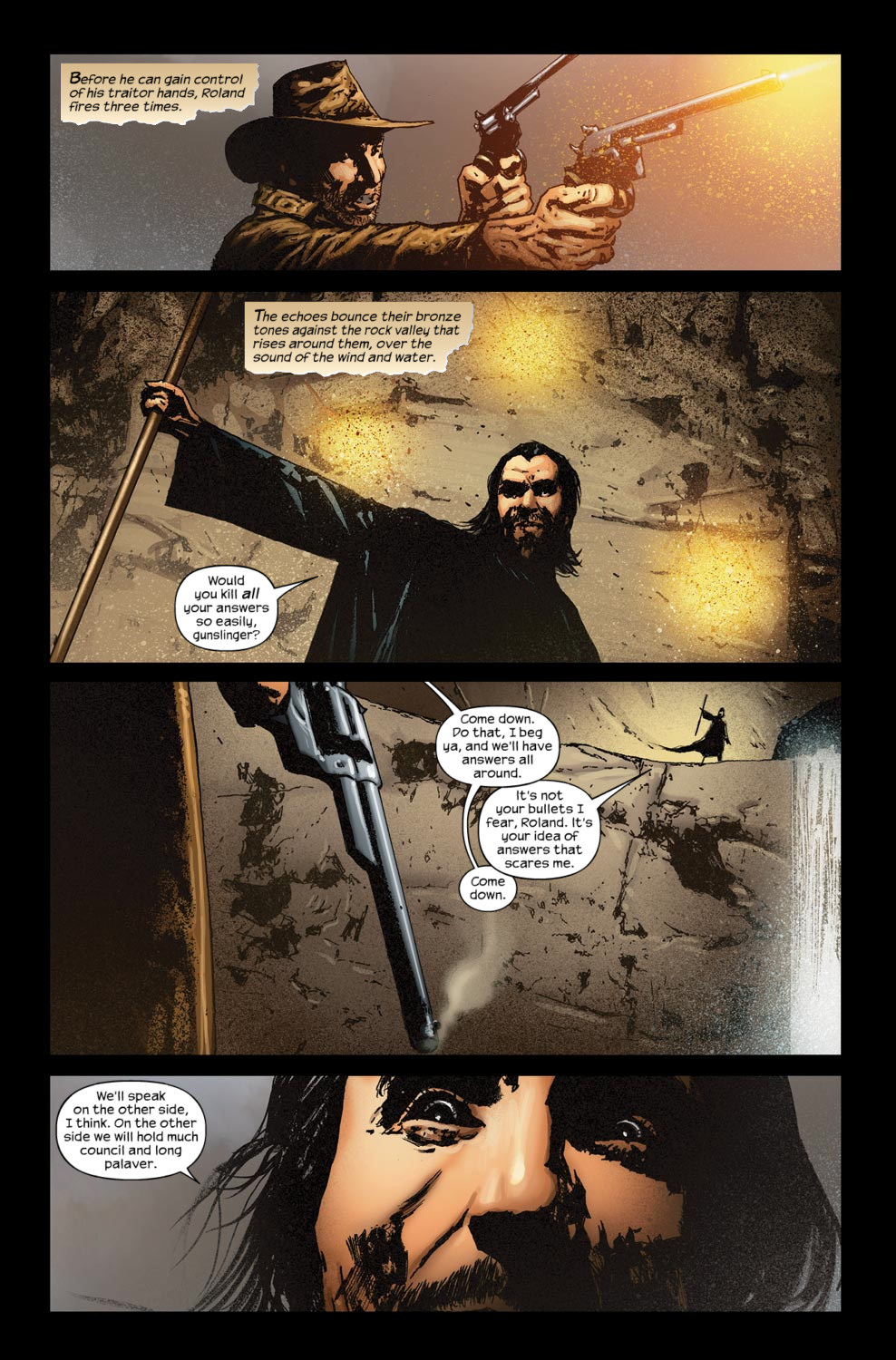 Read online Dark Tower: The Gunslinger - The Way Station comic -  Issue #5 - 22