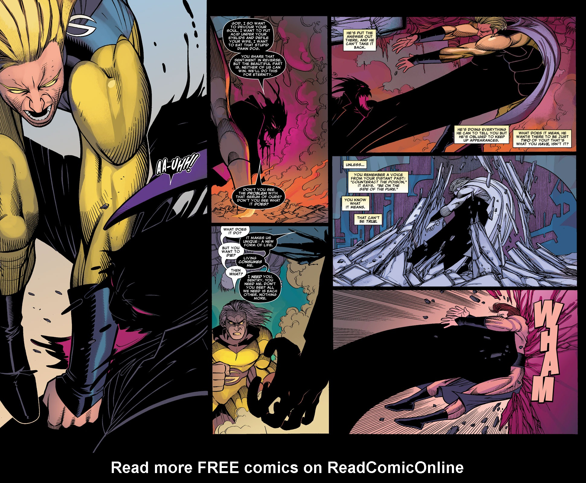 Read online Sentry (2006) comic -  Issue #8 - 13