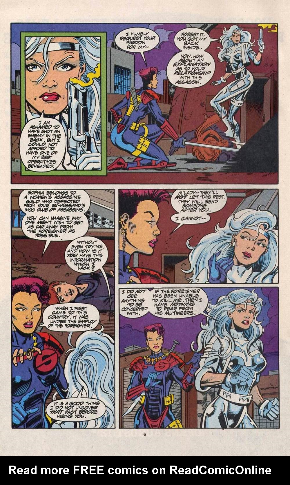 Read online Silver Sable and the Wild Pack comic -  Issue #28 - 6