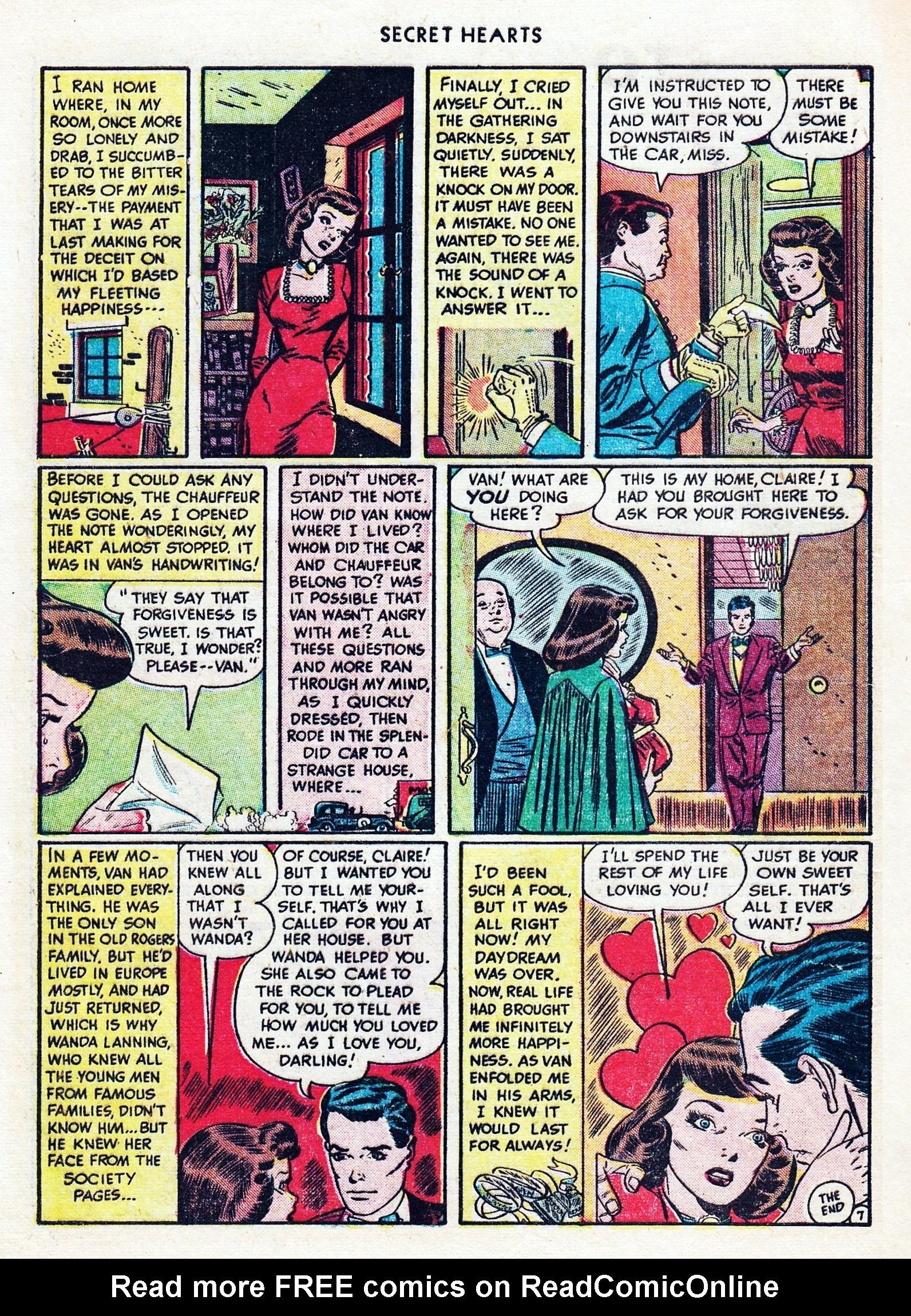 Read online Secret Hearts comic -  Issue #1 - 10