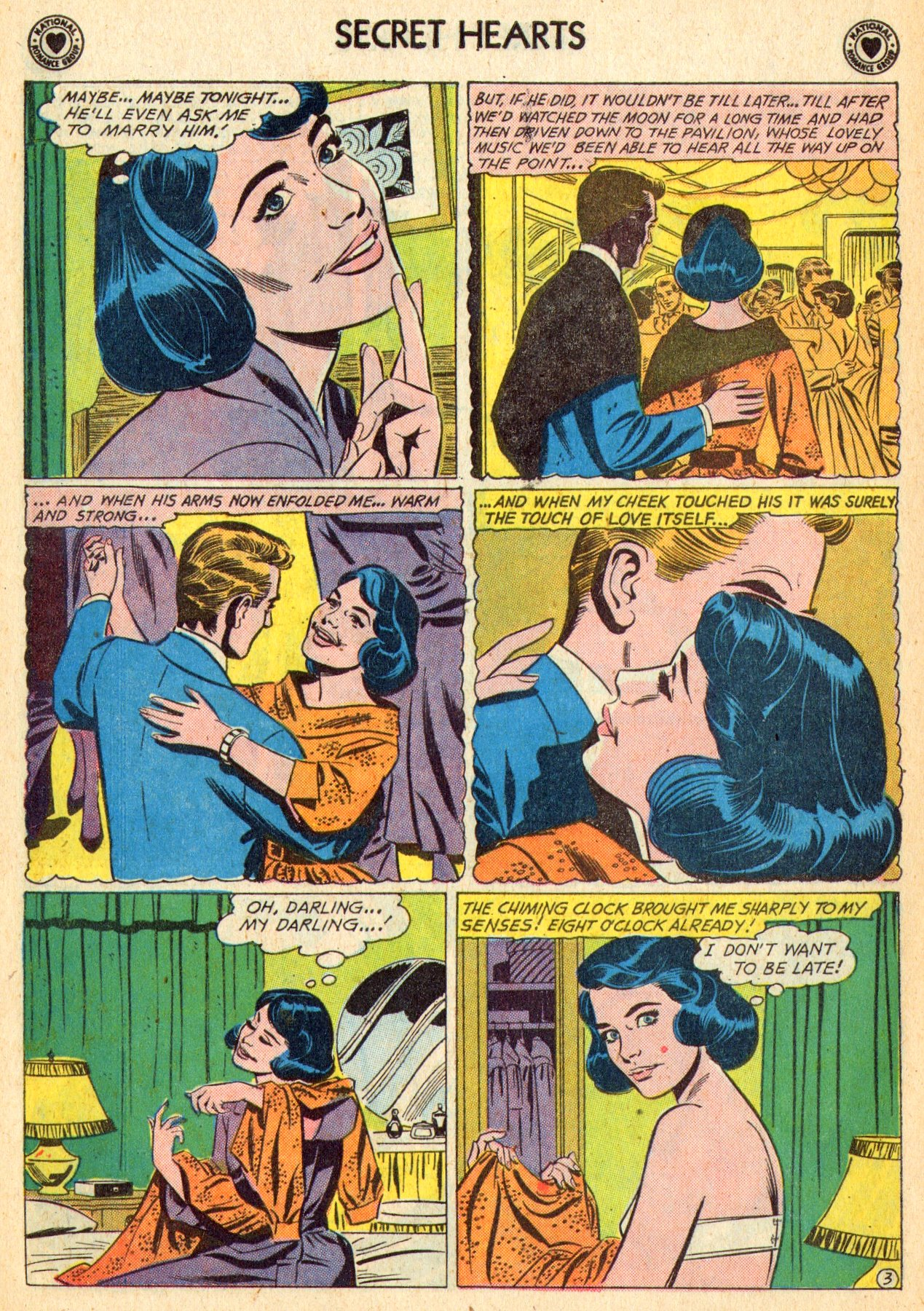 Read online Secret Hearts comic -  Issue #70 - 22