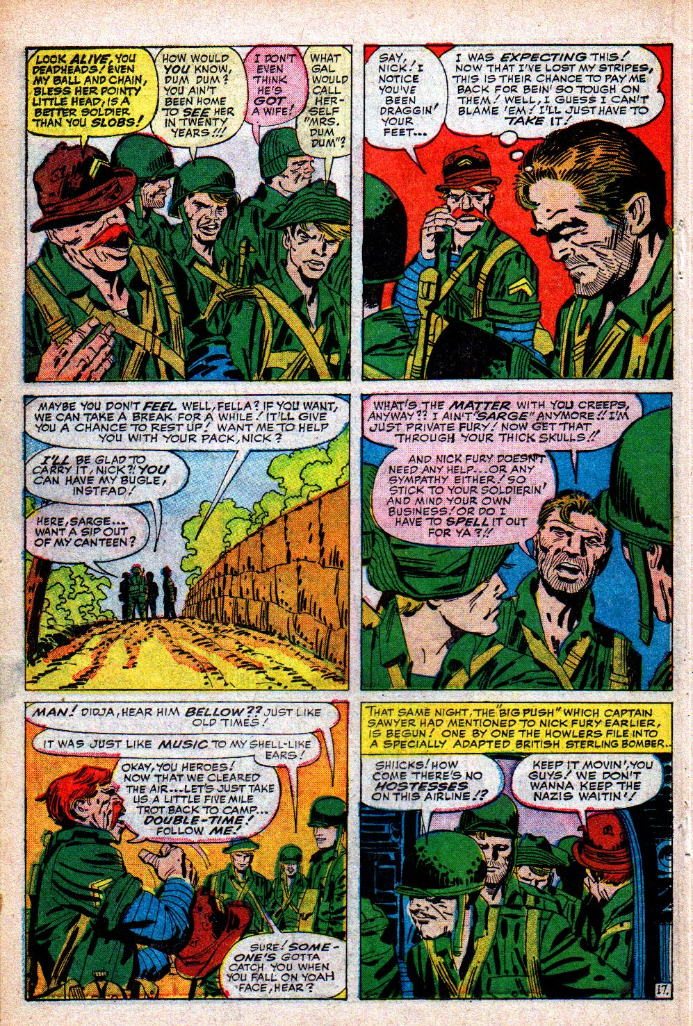 Read online Sgt. Fury comic -  Issue #5 - 22