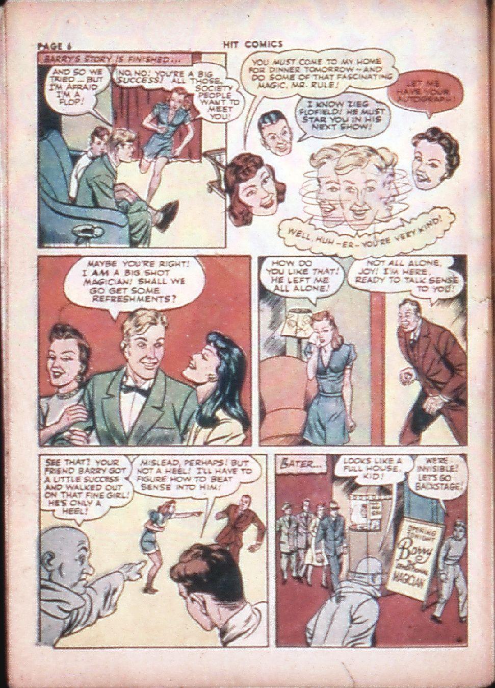 Read online Hit Comics comic -  Issue #29 - 8