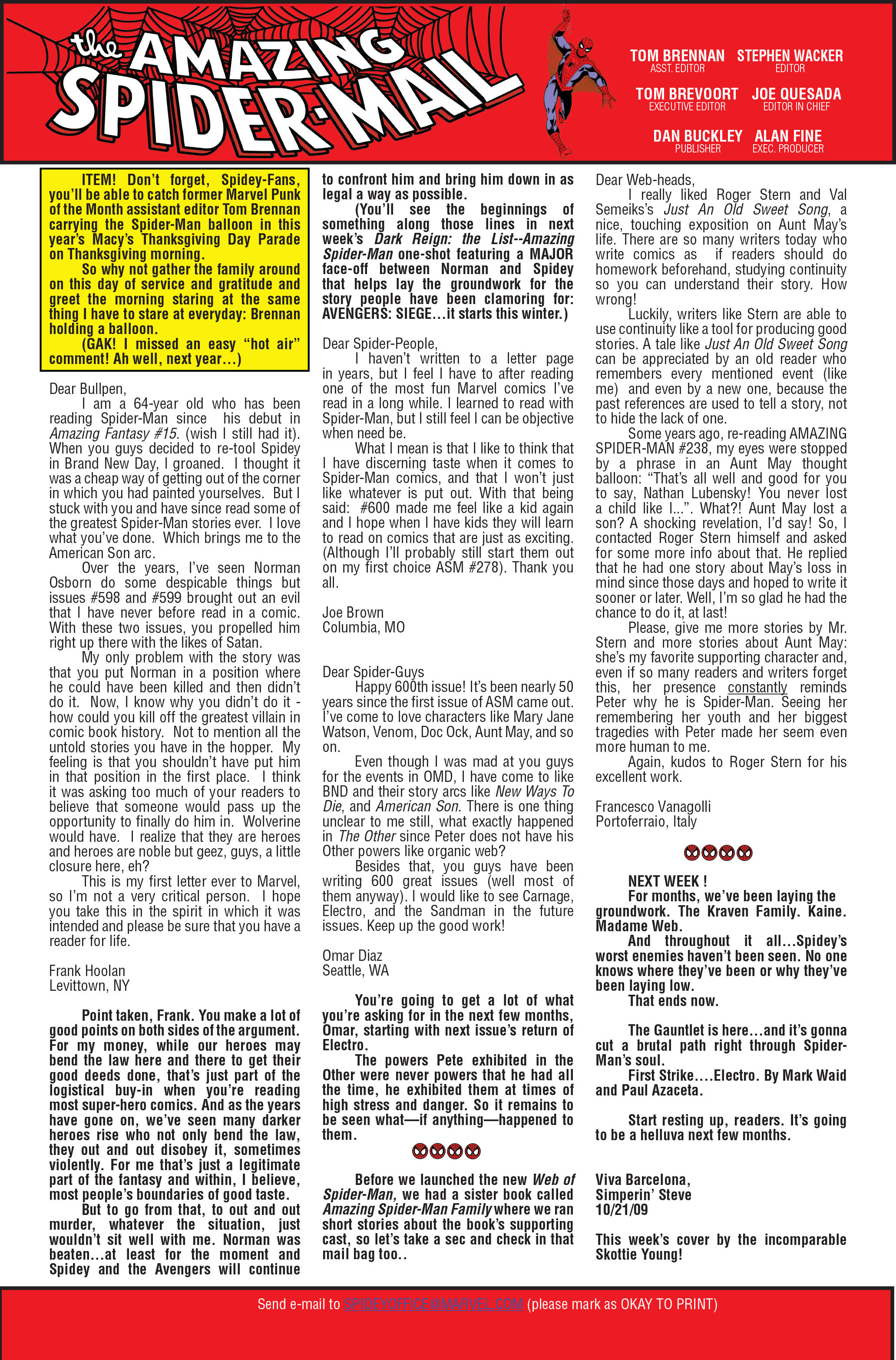 The Amazing Spider-Man (1963) 611 Page 22