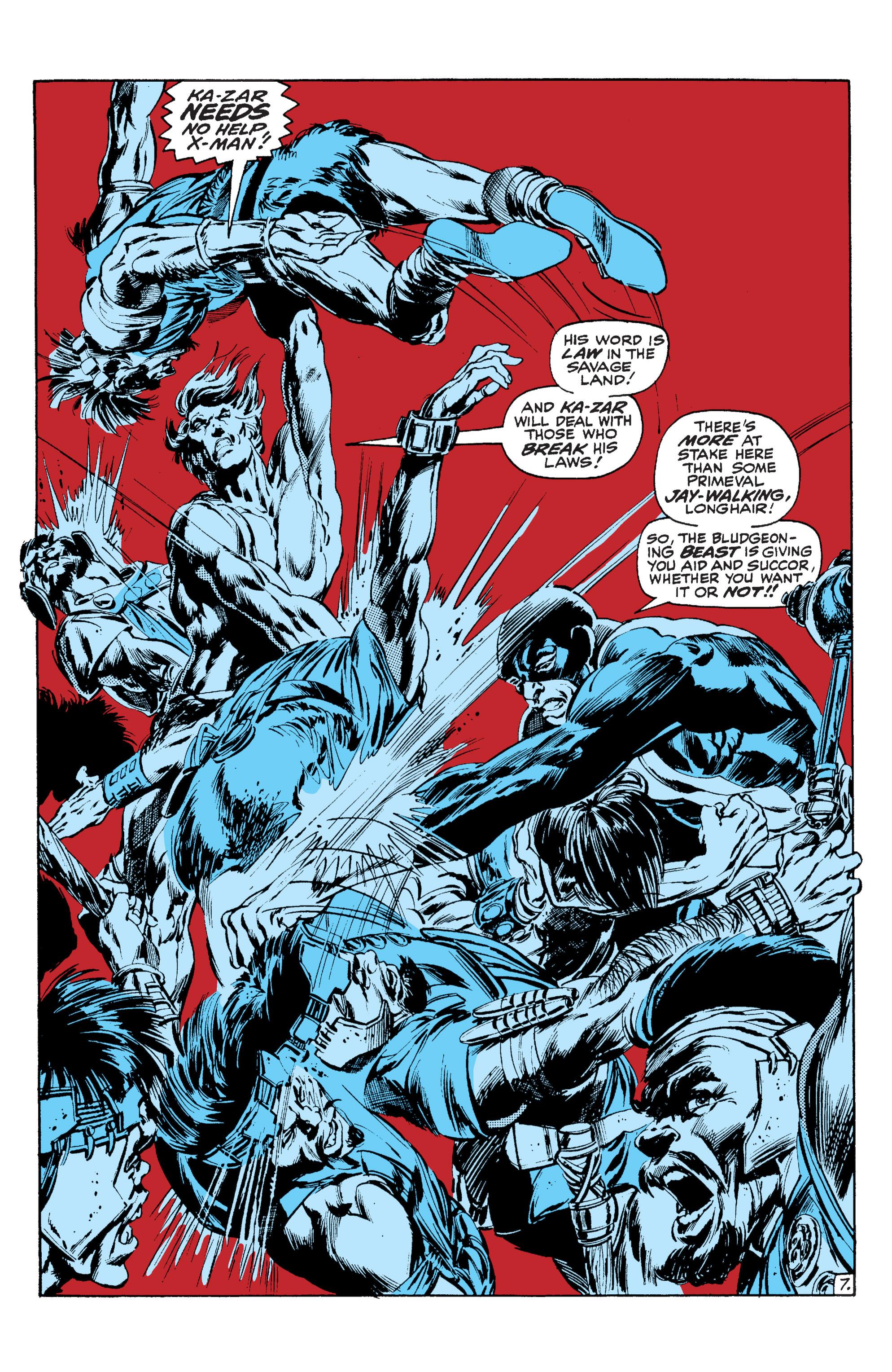 Read online Uncanny X-Men (1963) comic -  Issue #63 - 8