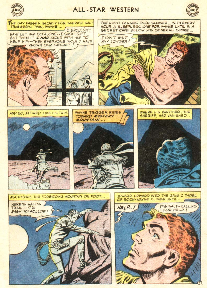 Read online All-Star Western (1951) comic -  Issue #91 - 4