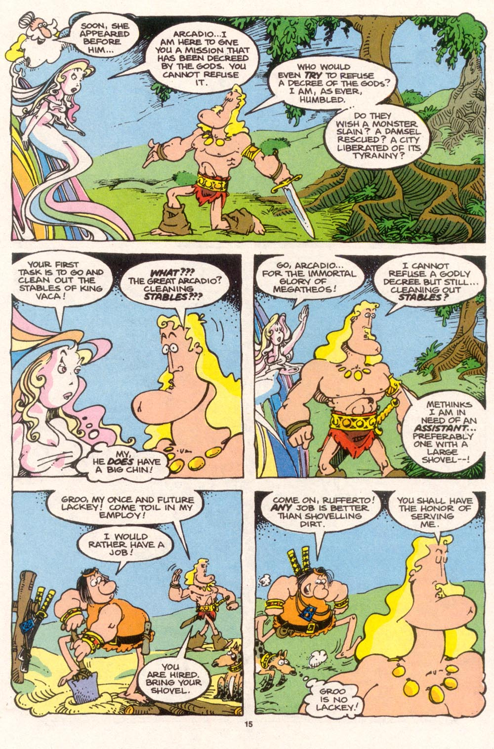 Read online Sergio Aragonés Groo the Wanderer comic -  Issue #96 - 16