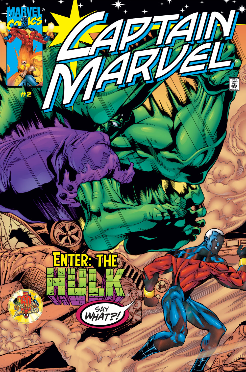 Captain Marvel (1999) Issue #2 #3 - English 1