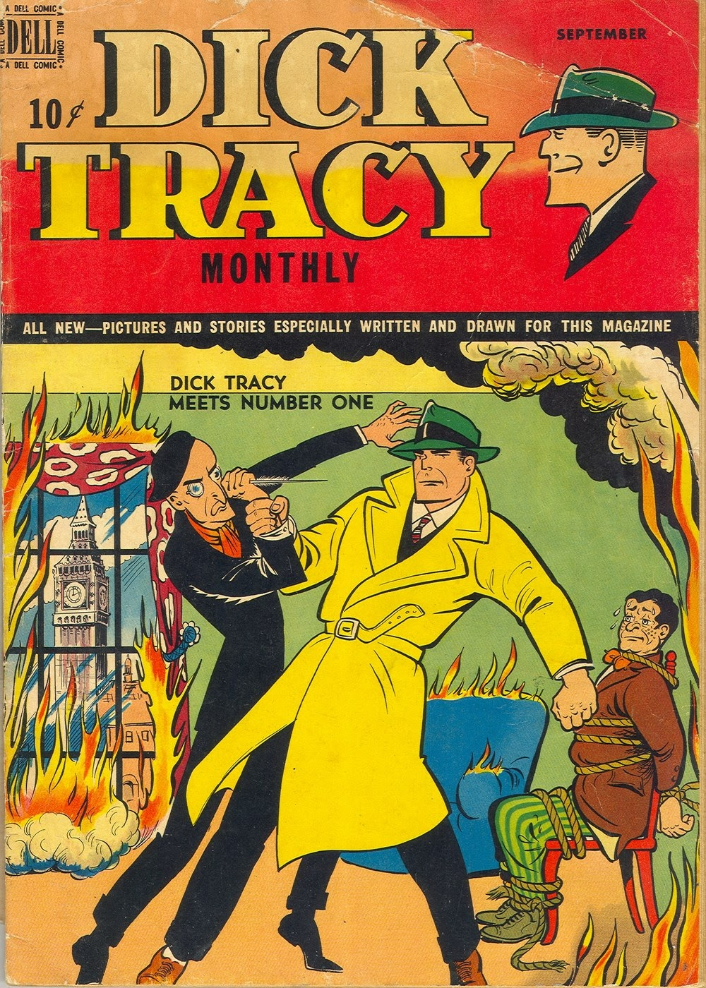Dick Tracy Monthly 21 Page 1