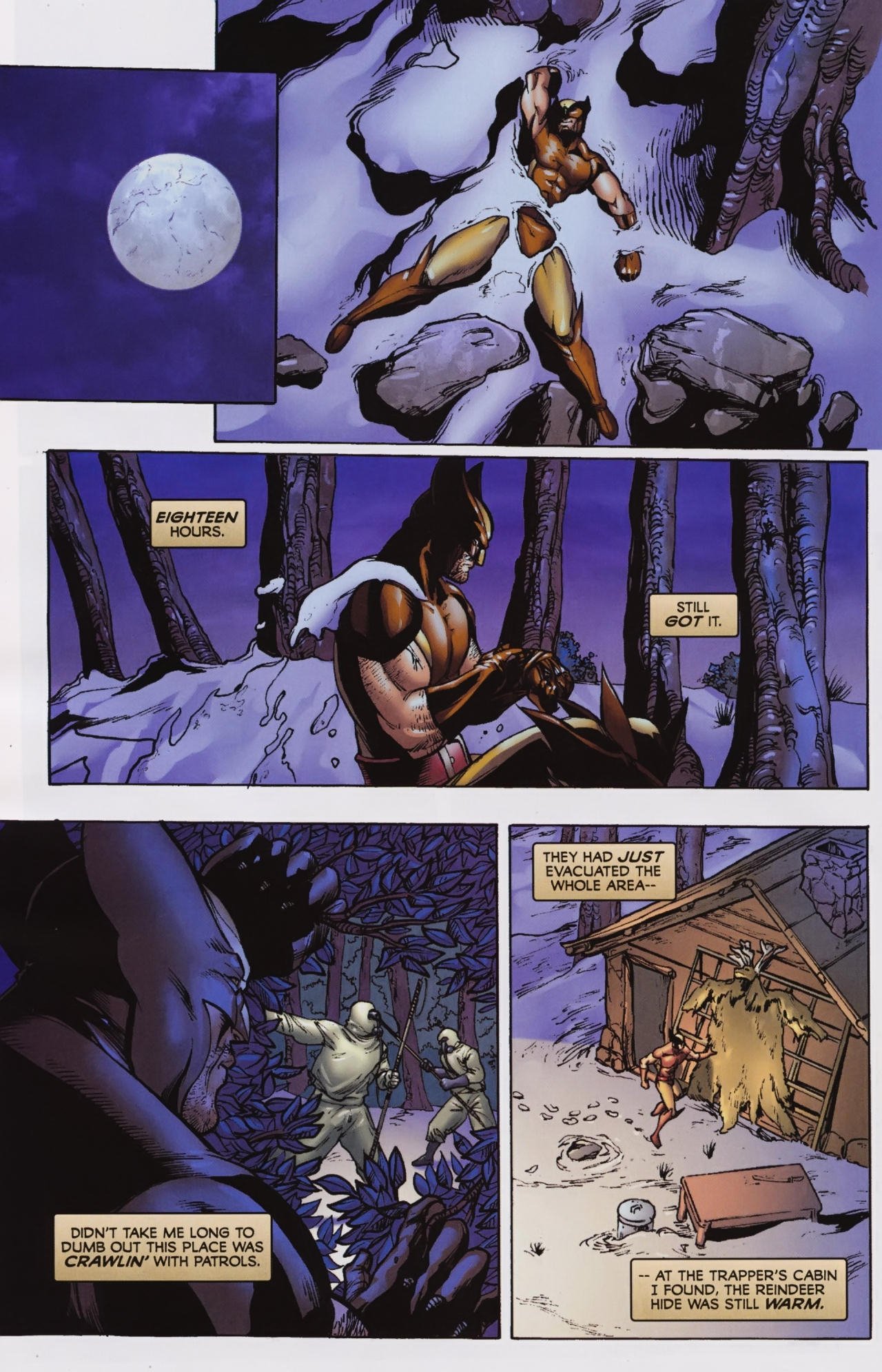 Read online Wolverine: First Class comic -  Issue #7 - 19