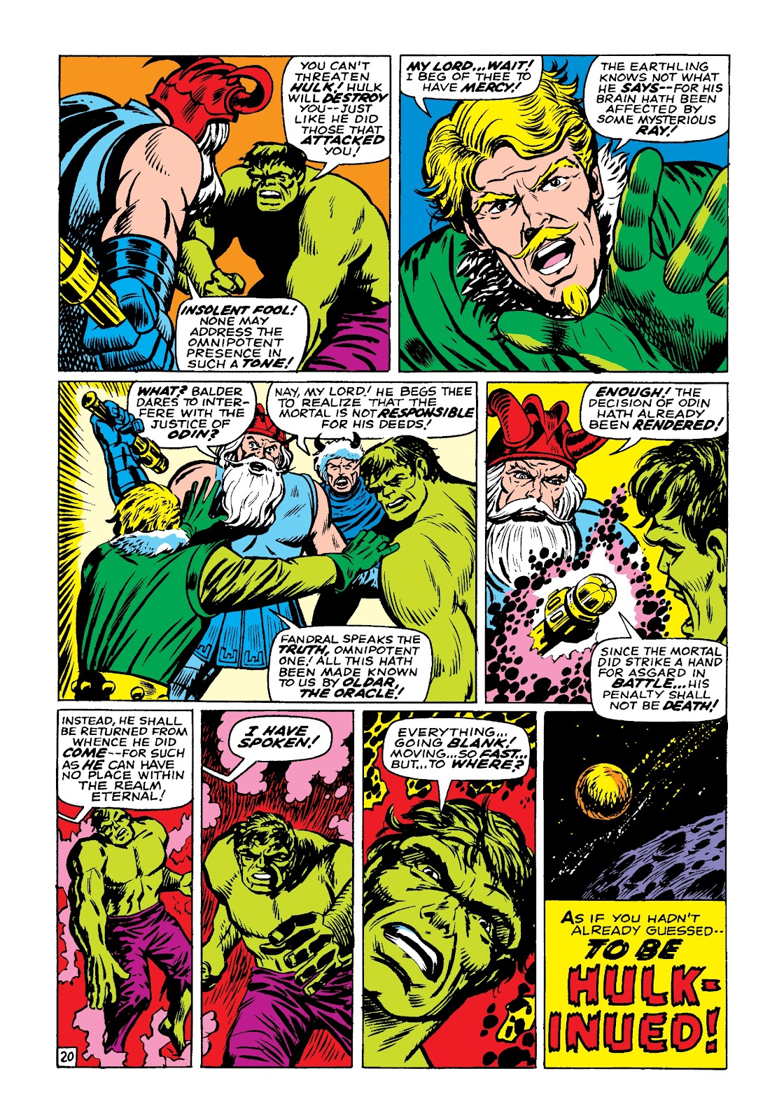 Read online Marvel Masterworks: The Incredible Hulk comic -  Issue # TPB 3 (Part 3) - 83
