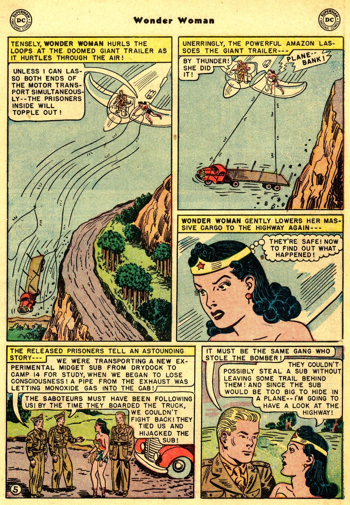 Read online Wonder Woman (1942) comic -  Issue #55 - 7