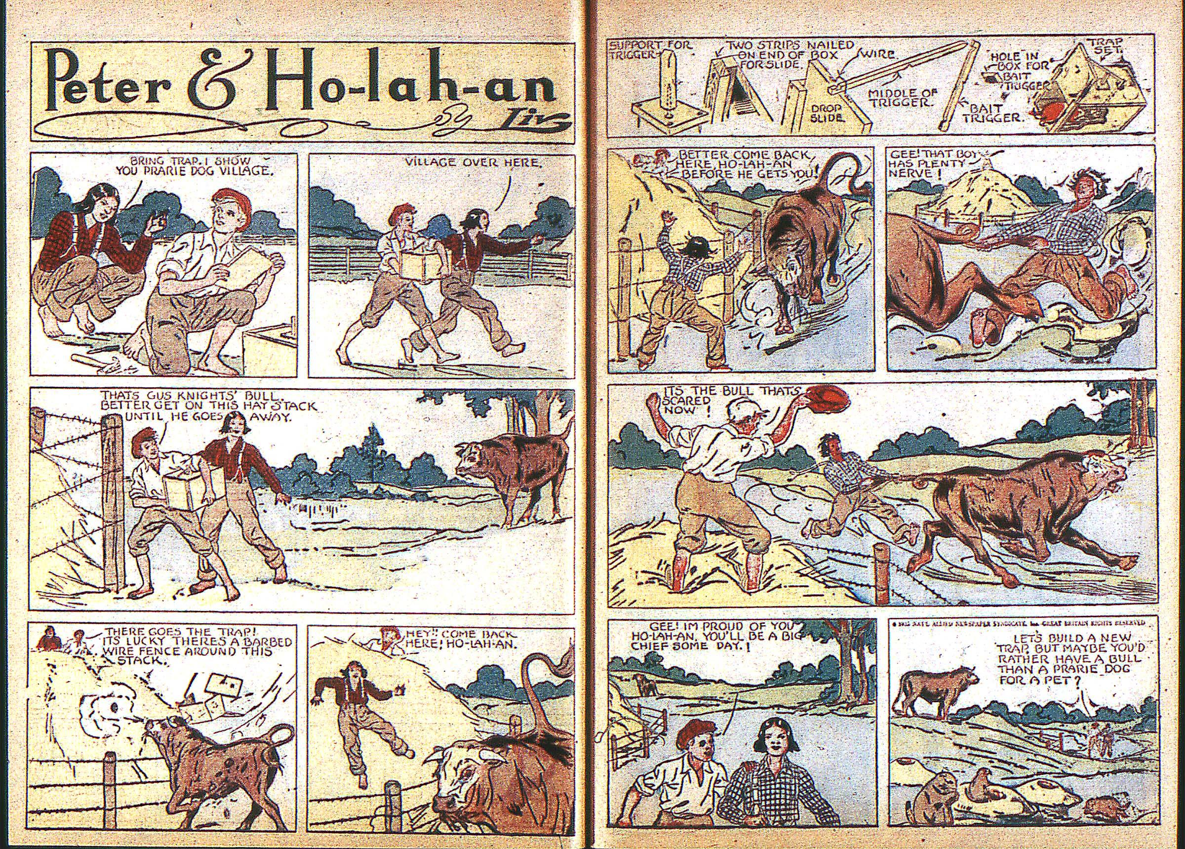 Read online Adventure Comics (1938) comic -  Issue #3 - 7