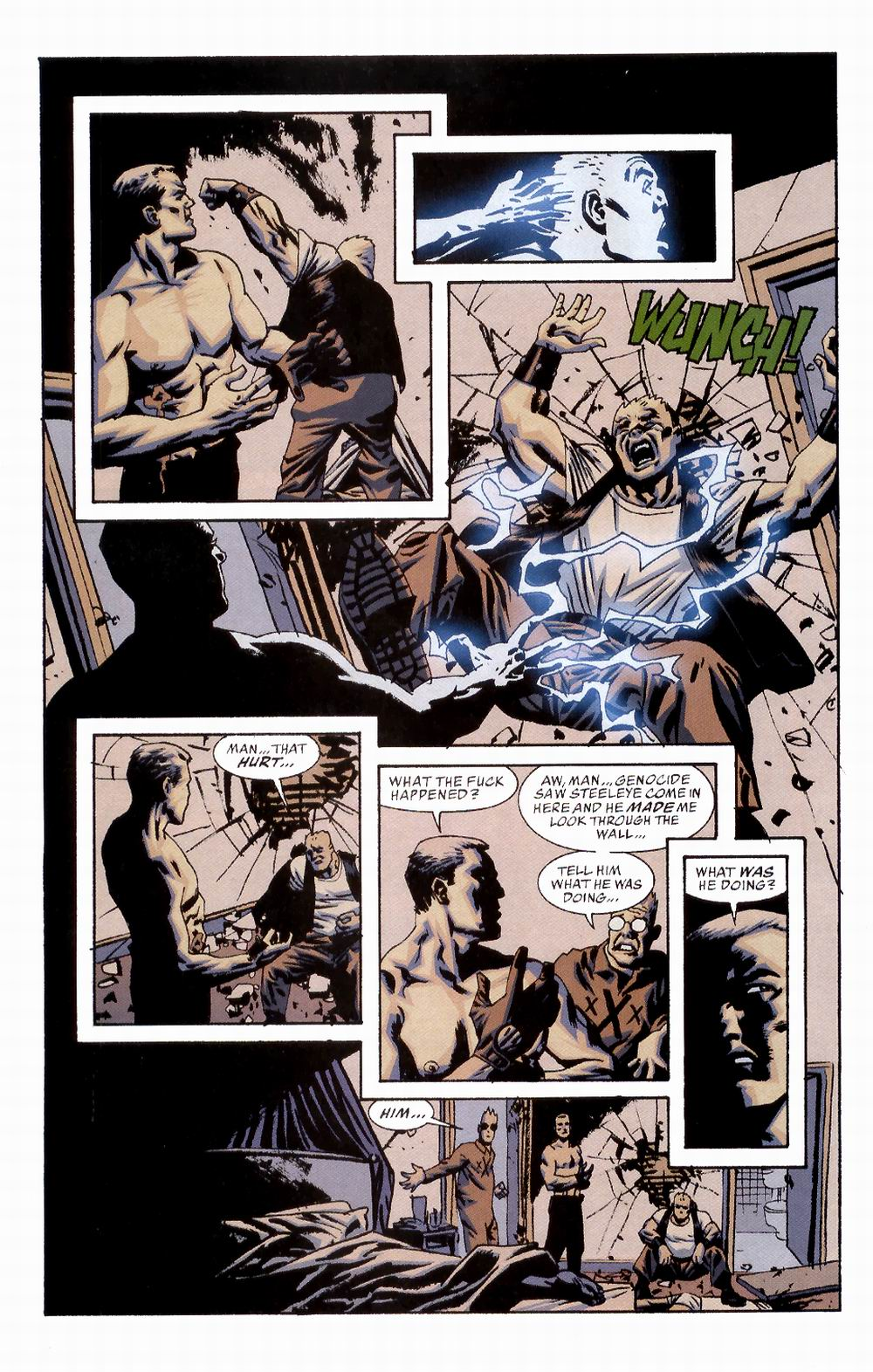 Read online Sleeper comic -  Issue #2 - 23