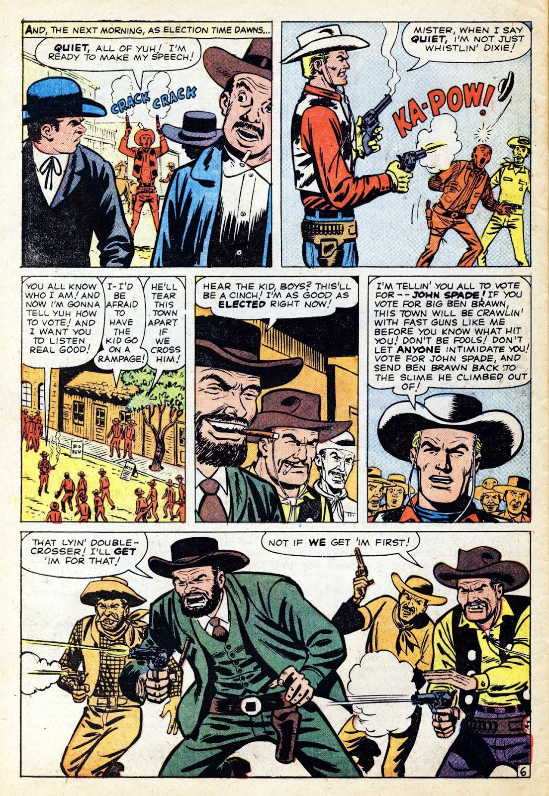 Gunsmoke Western issue 65 - Page 10