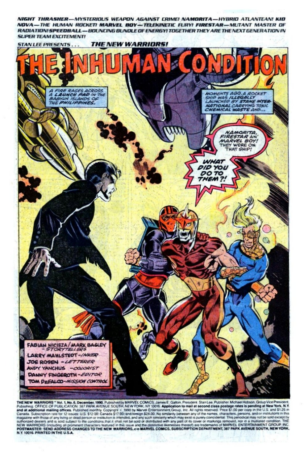 The New Warriors Issue #6 #10 - English 2