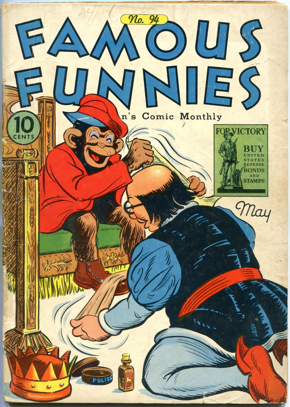 Read online Famous Funnies comic -  Issue #94 - 1