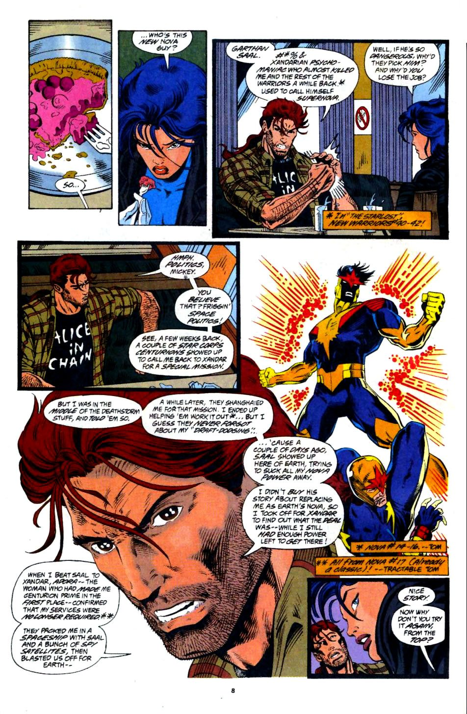 The New Warriors Issue #60 #64 - English 7