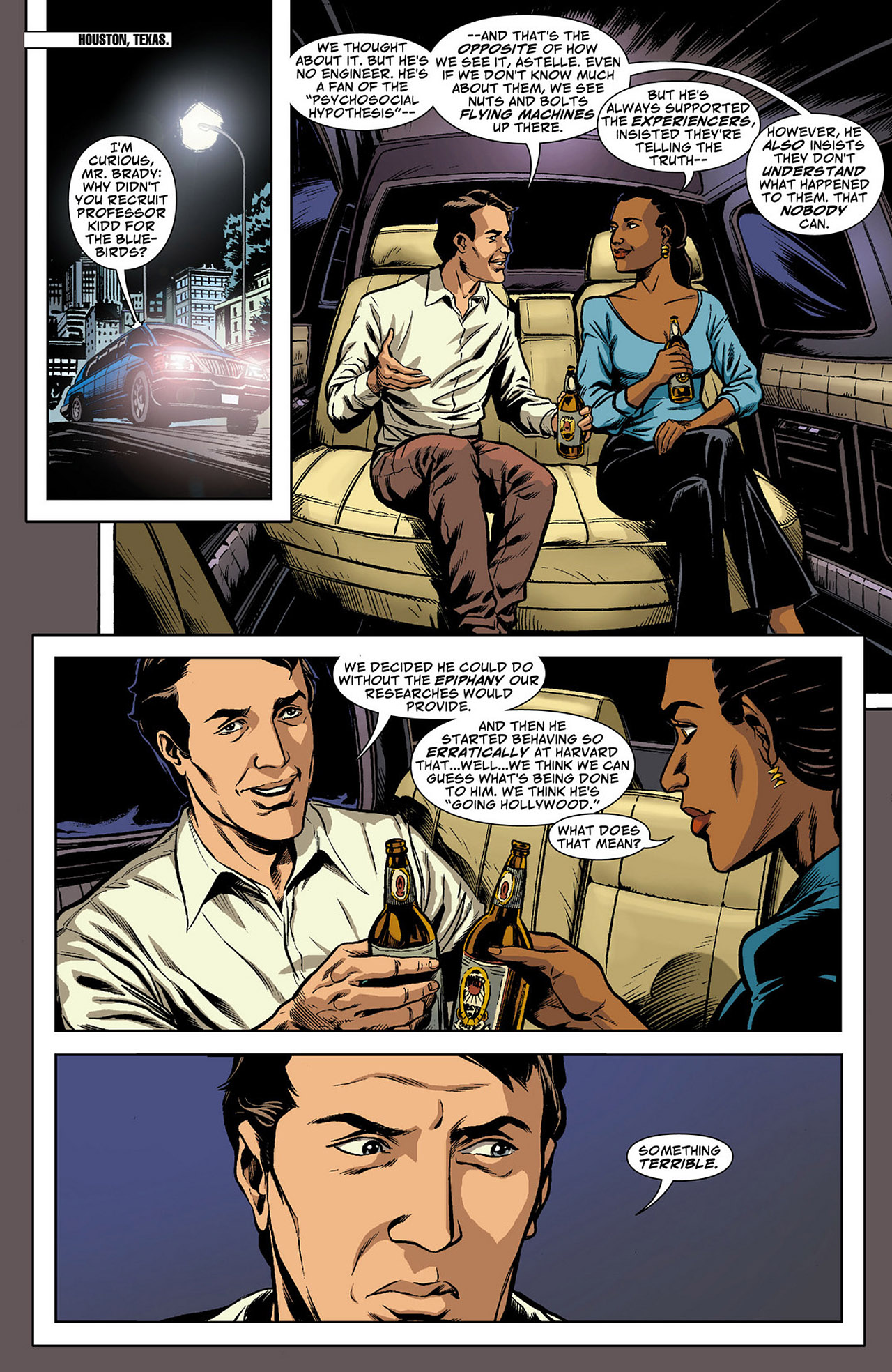Read online Saucer Country comic -  Issue #4 - 5