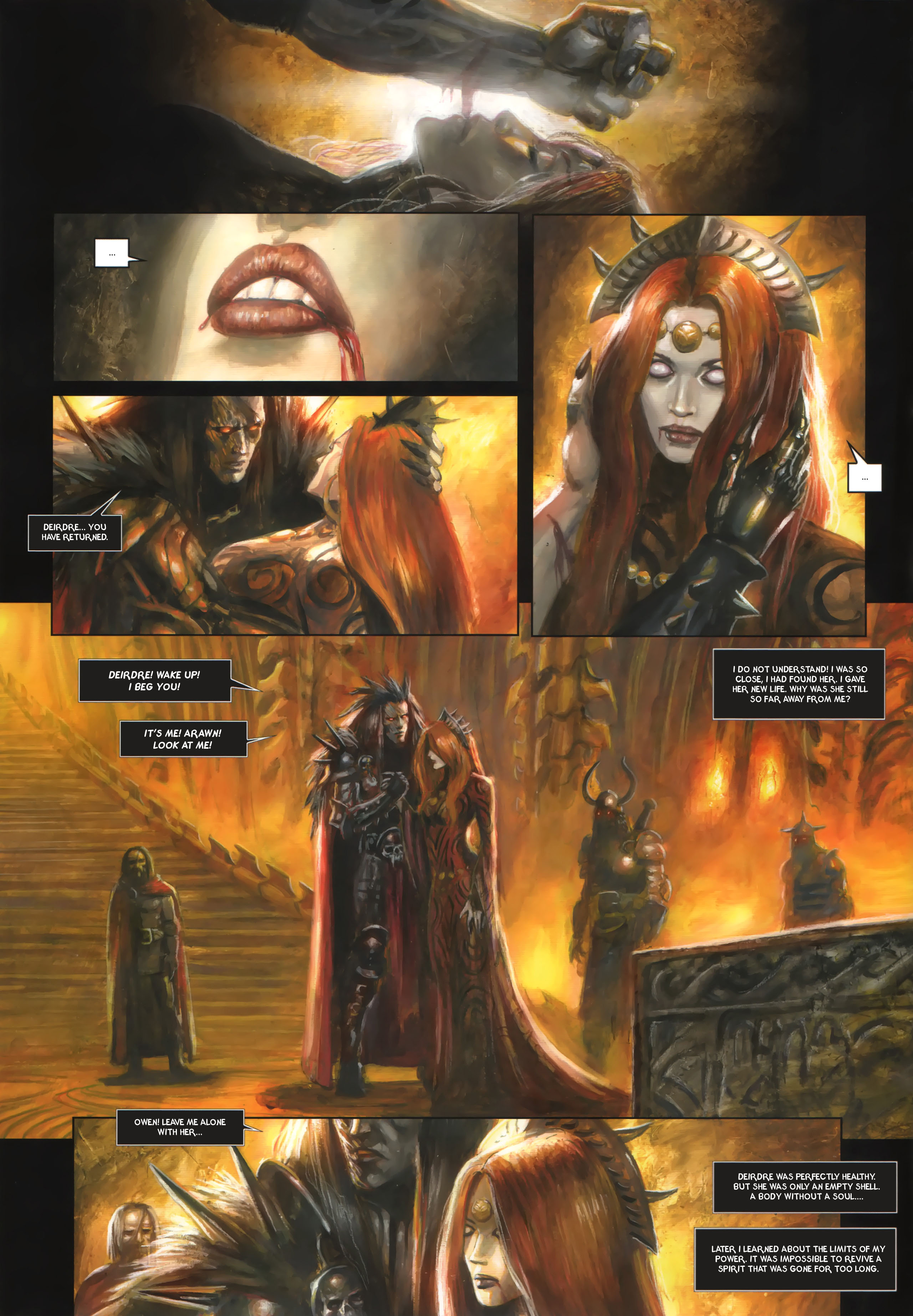 Read online Arawn comic -  Issue #6 - 37