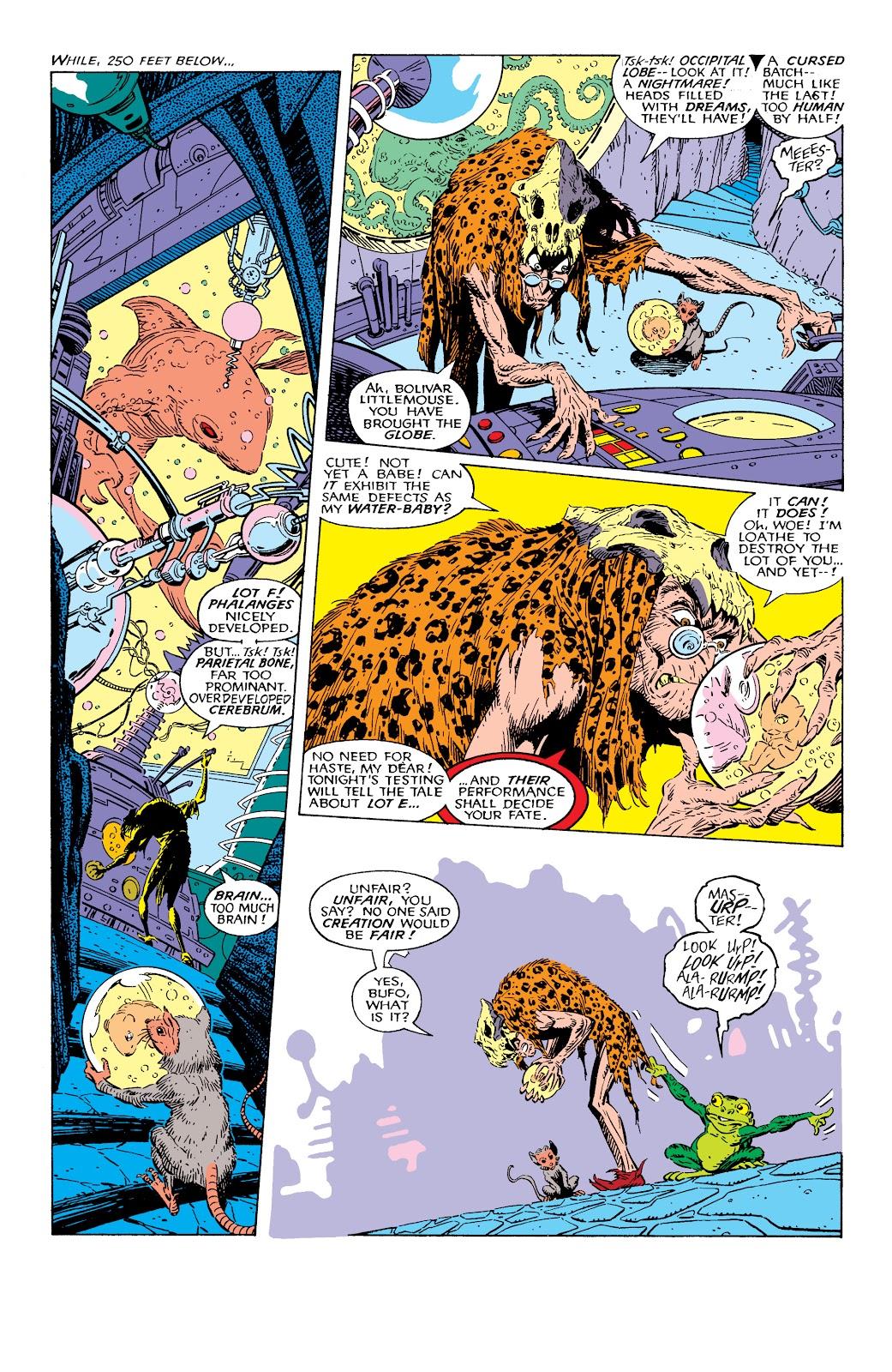 Read online X-Men Milestones: Fall of the Mutants comic -  Issue # TPB (Part 1) - 95