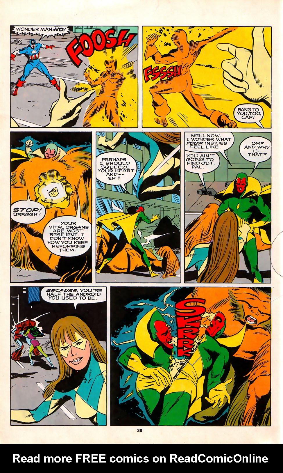 Read online Alpha Flight (1983) comic -  Issue #75 - 33
