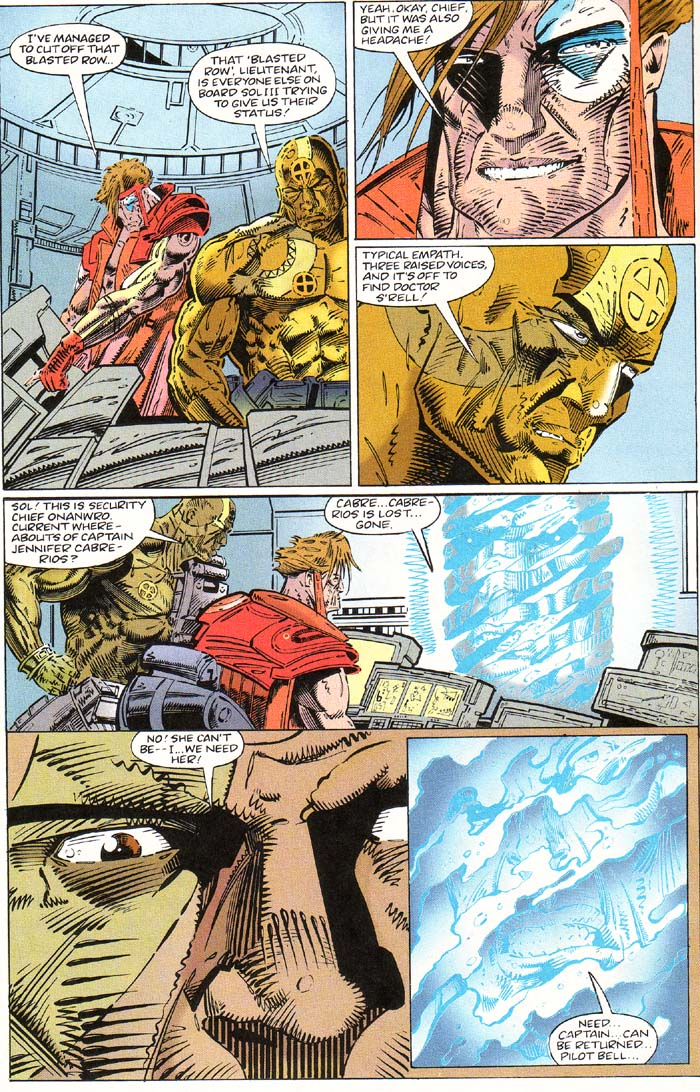 Read online Cyberspace 3000 comic -  Issue #1 - 6