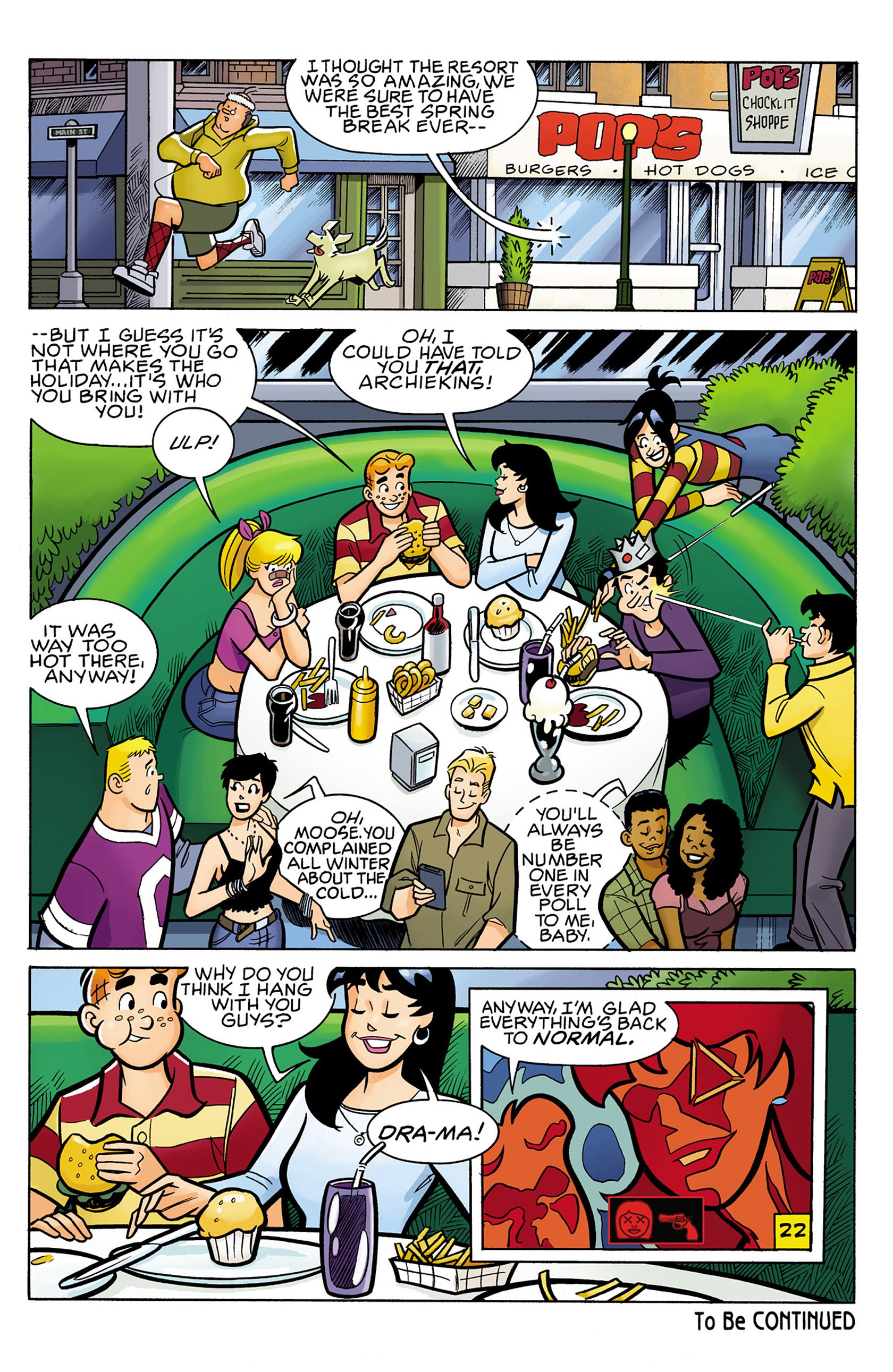 Read online Archie vs. Predator comic -  Issue #1 - 23