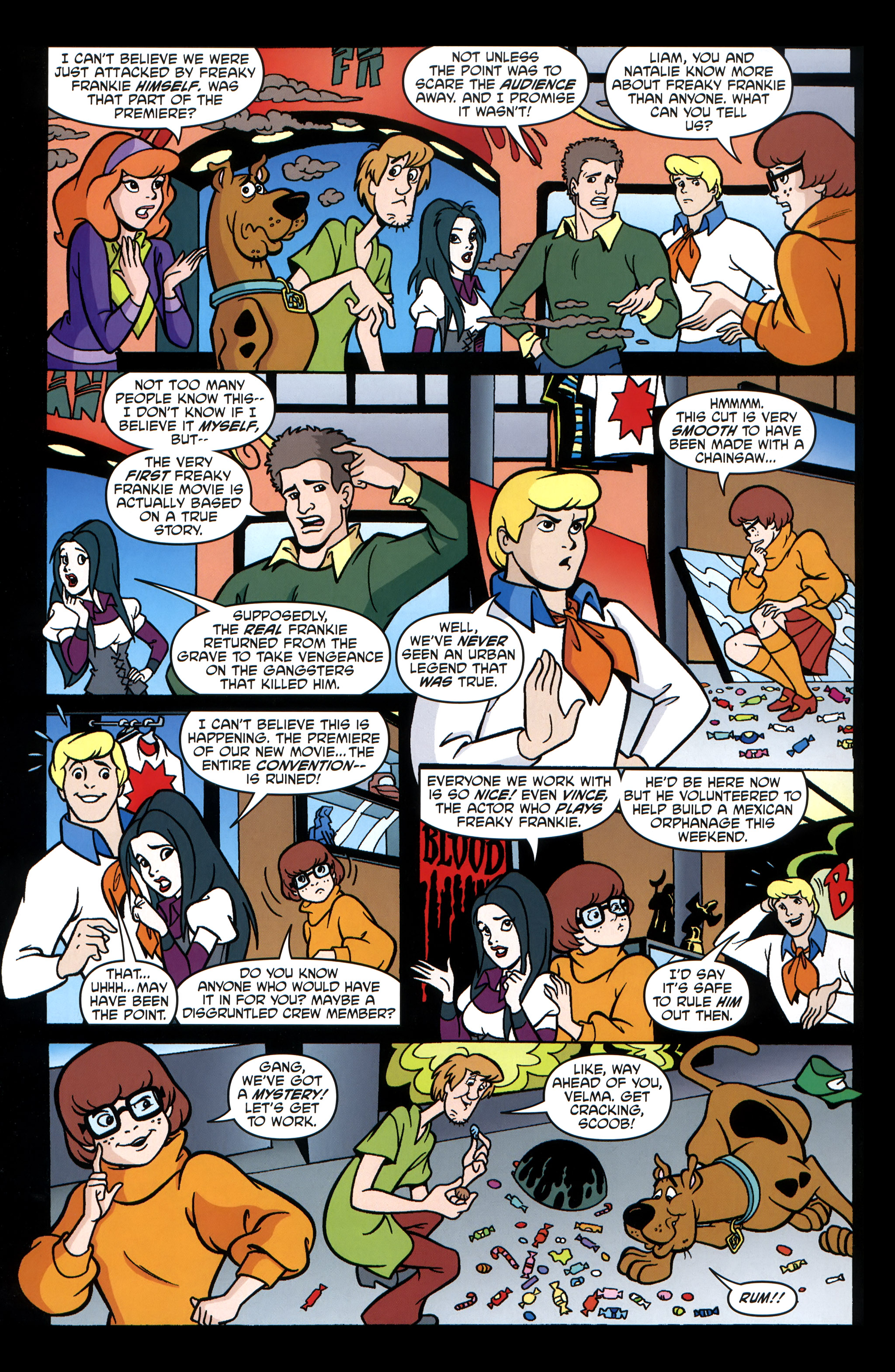Read online Scooby-Doo: Where Are You? comic -  Issue #32 - 22