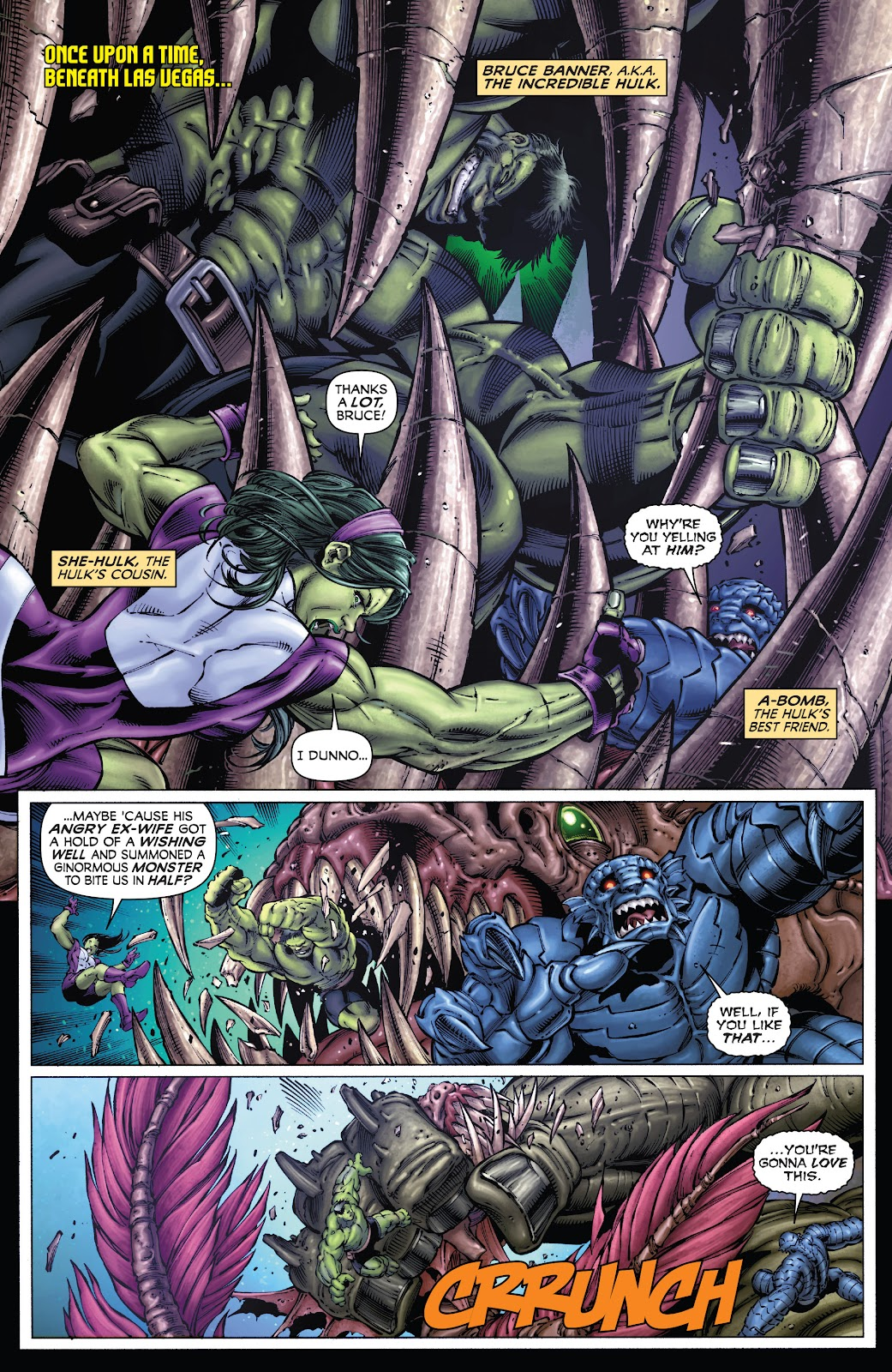 Read online Incredible Hulks (2010) comic -  Issue # _TPB Heart of the Monster - 27