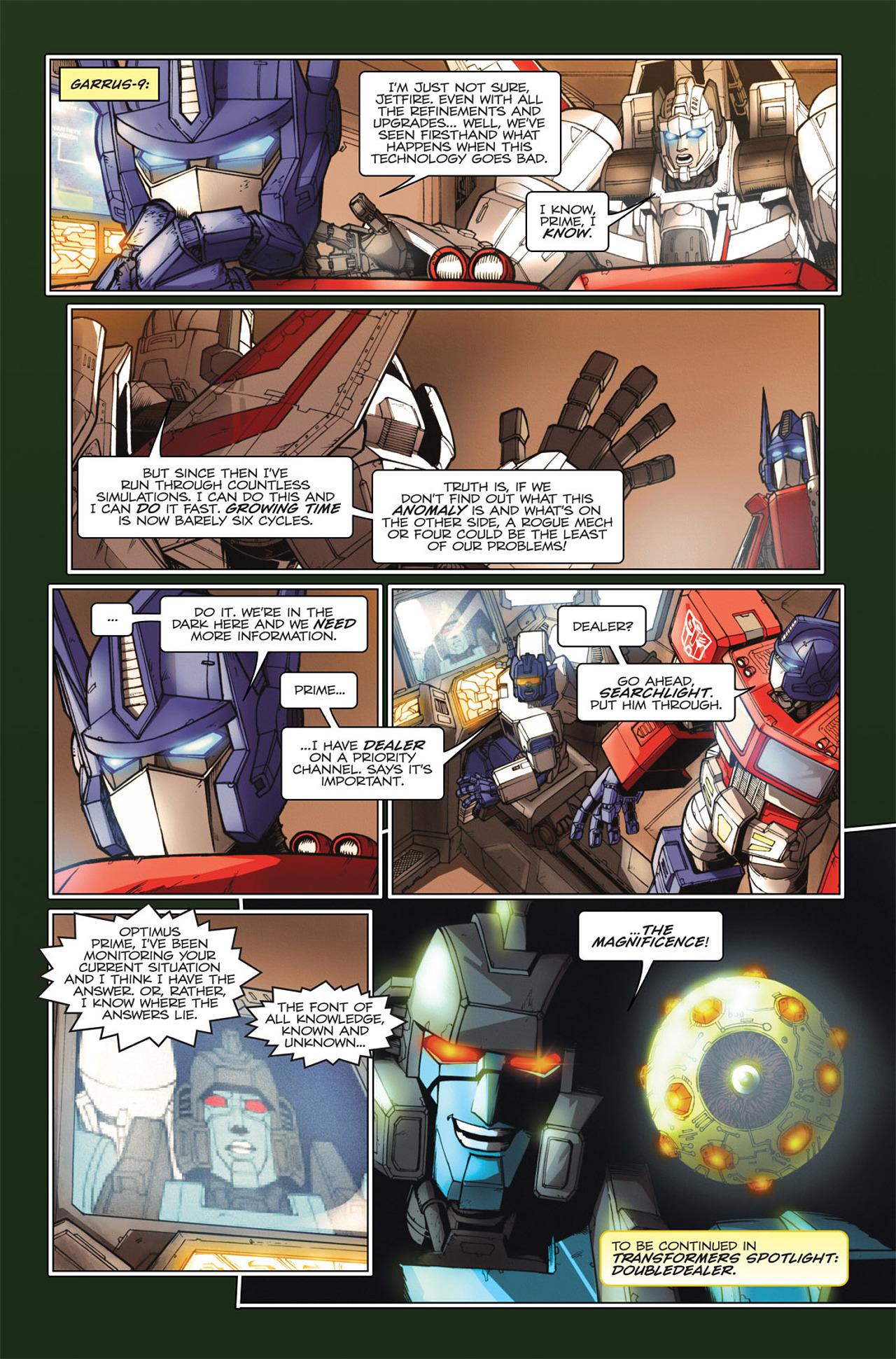 Read online Transformers Spotlight: Hardhead comic -  Issue # Full - 26