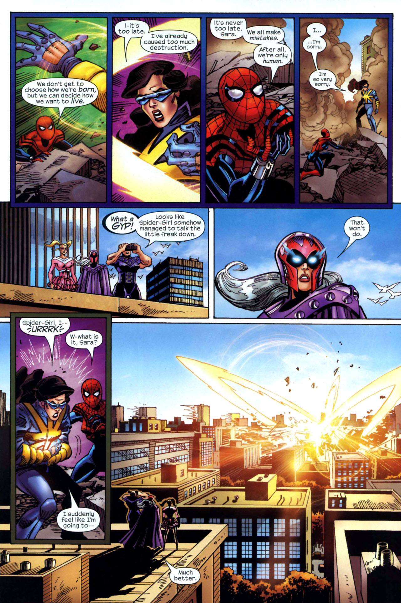 Read online Amazing Spider-Girl comic -  Issue #24 - 21