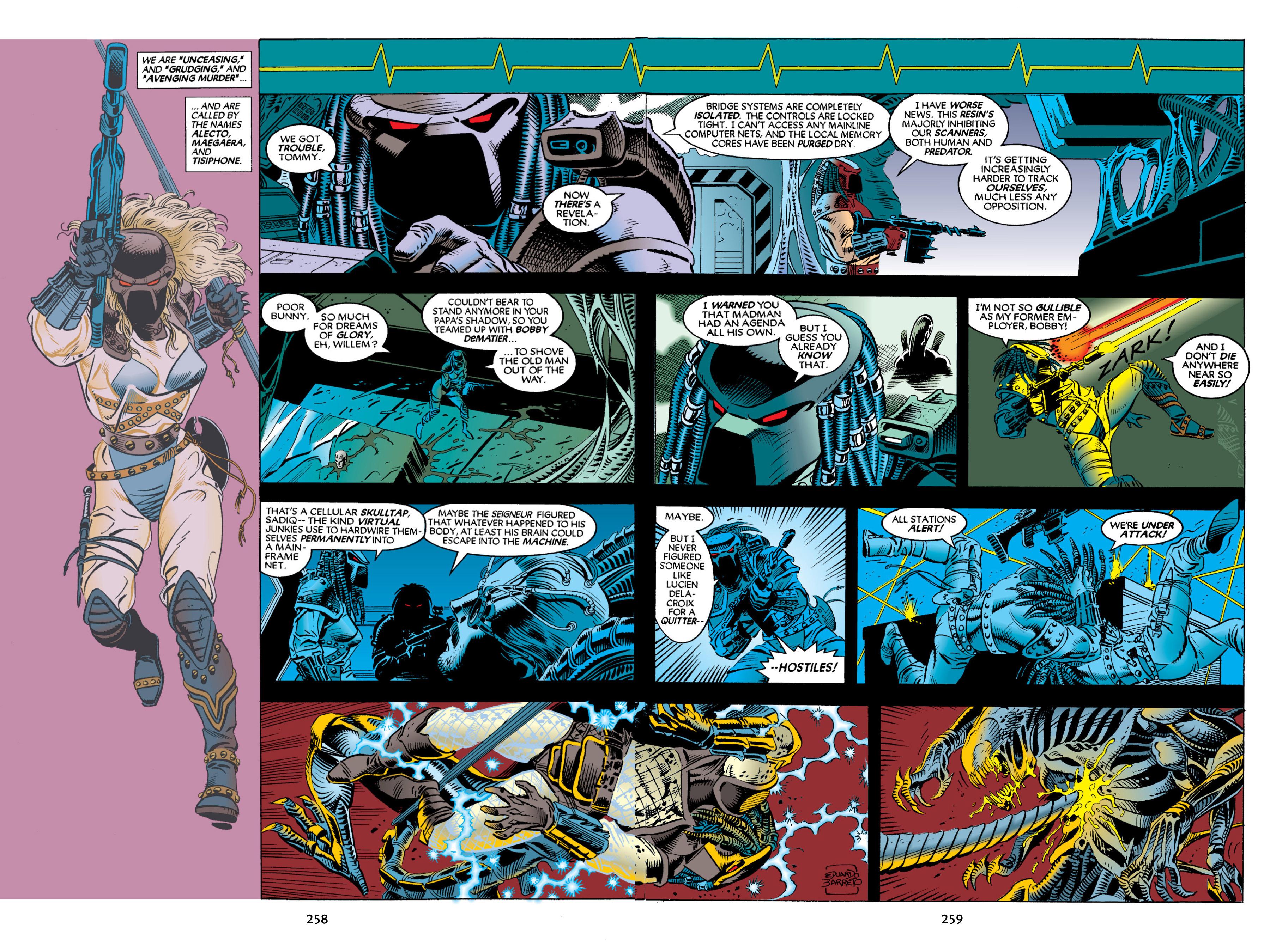 Read online Aliens vs. Predator Omnibus comic -  Issue # _TPB 2 Part 3 - 34