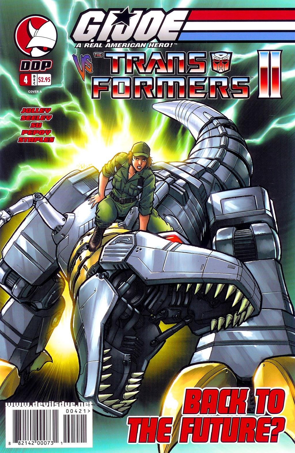 G.I. Joe vs. The Transformers II Issue #4 #5 - English 1