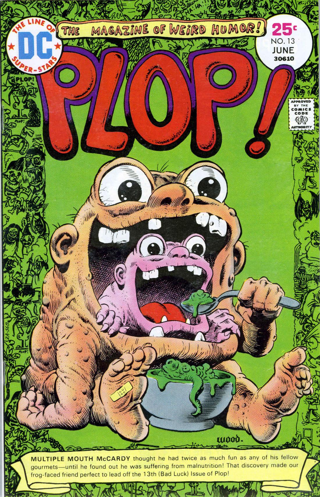 Read online Plop! comic -  Issue #13 - 1