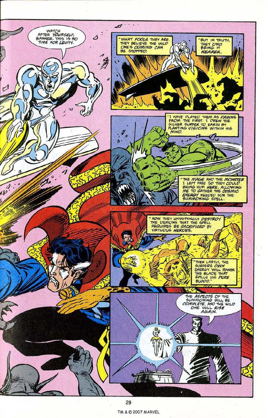 Read online Silver Surfer (1987) comic -  Issue # _Annual 5 - 31