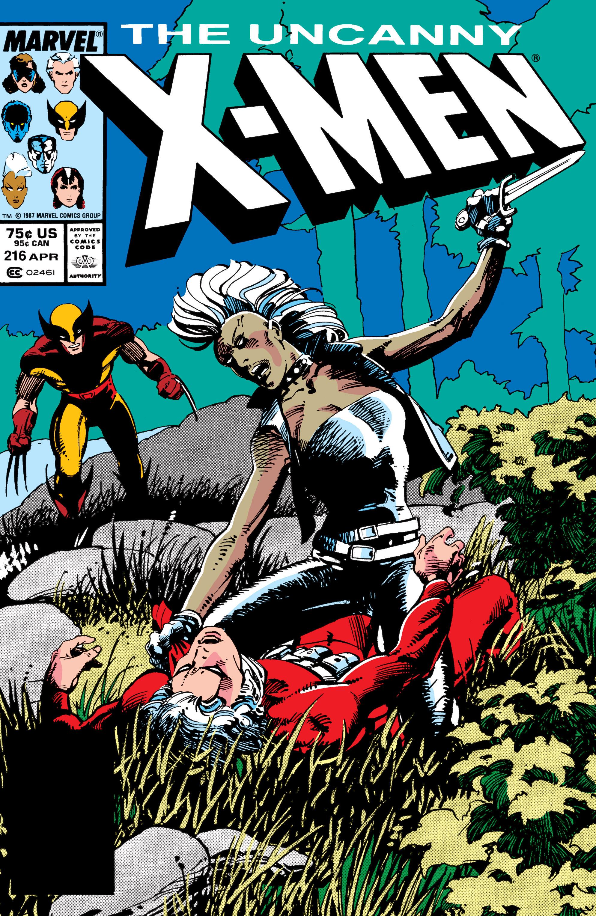 Uncanny X-Men (1963) 216 Page 1