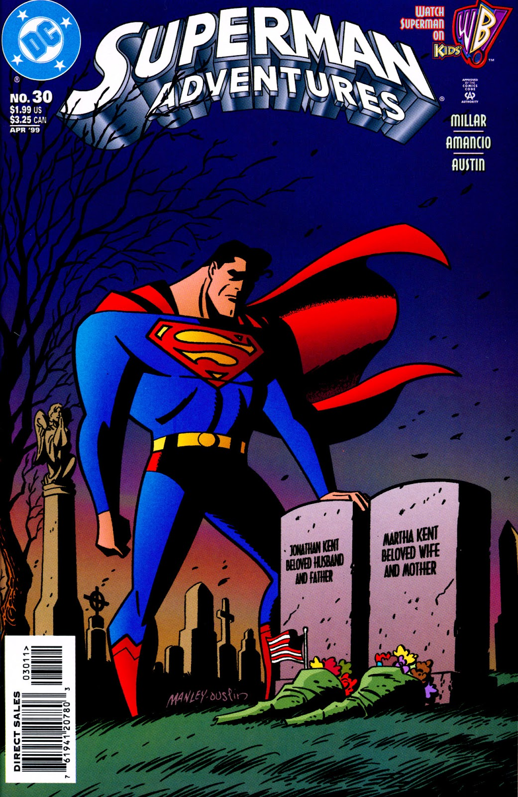 Superman Adventures issue 30 - Page 1