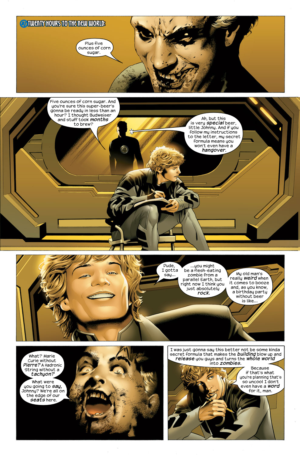 Read online Ultimate Fantastic Four (2004) comic -  Issue #27 - 9