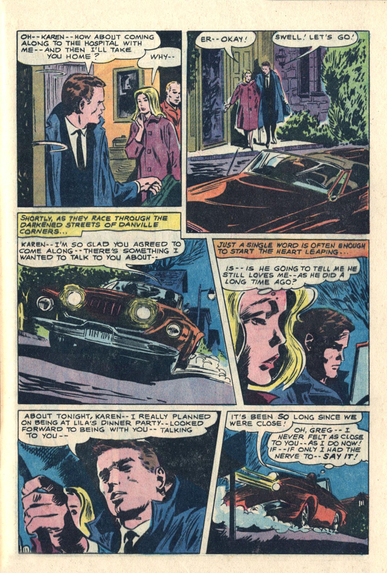 Read online Secret Hearts comic -  Issue #113 - 29