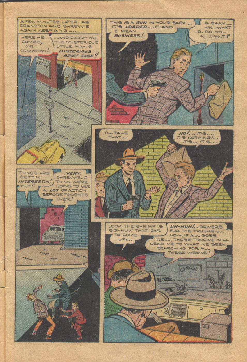 Read online Shadow Comics comic -  Issue #95 - 7
