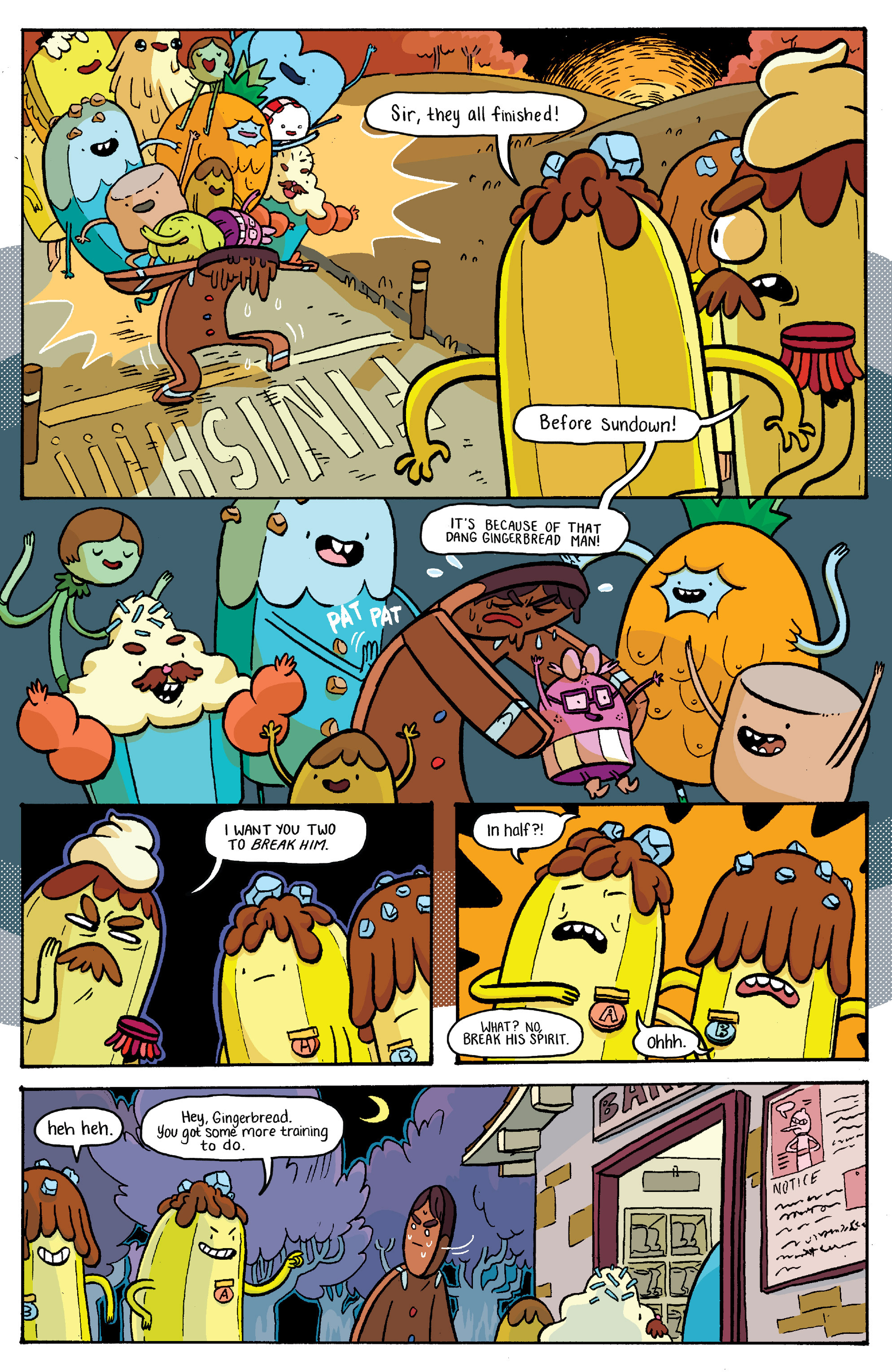 Read online Adventure Time: Banana Guard Academ comic -  Issue #2 - 18
