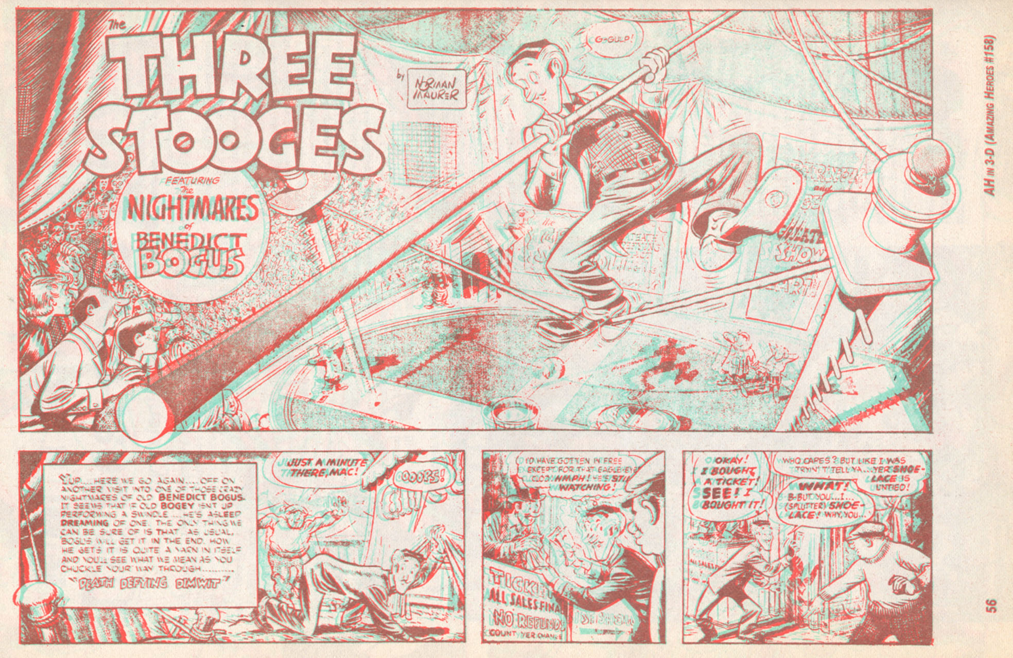 Read online Amazing Heroes comic -  Issue #158 - 57