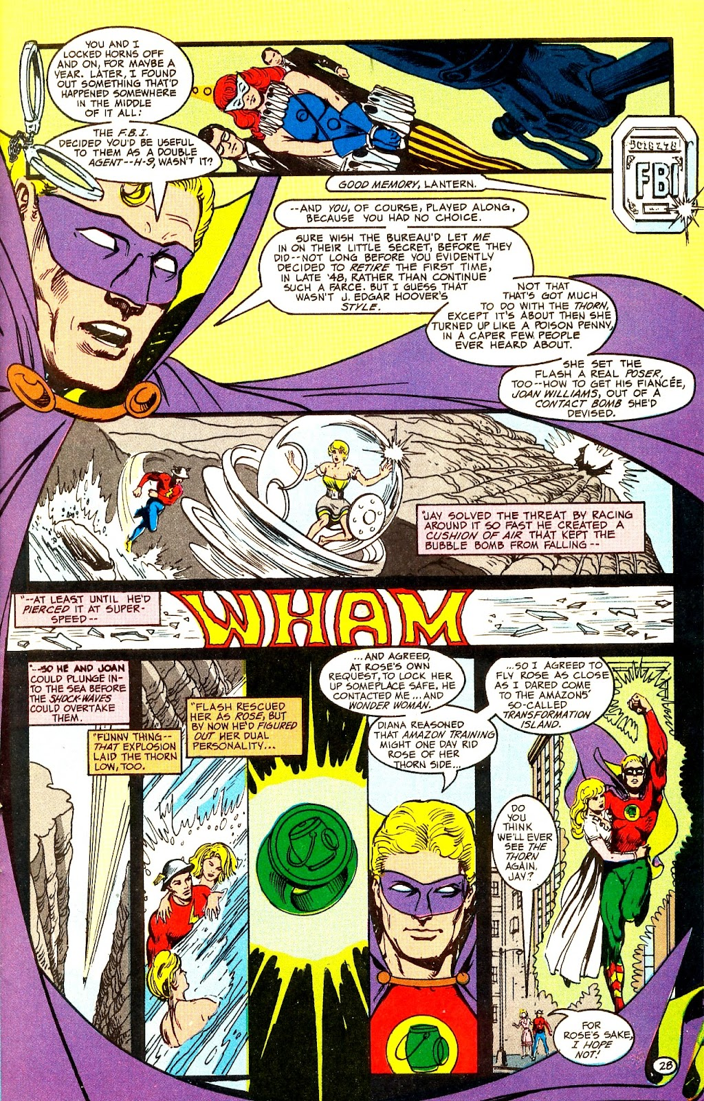 Infinity Inc. (1984) issue Annual 1 - Page 33