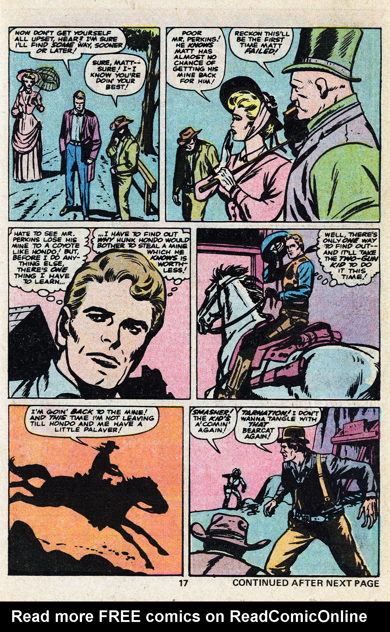 Read online Two-Gun Kid comic -  Issue #136 - 19